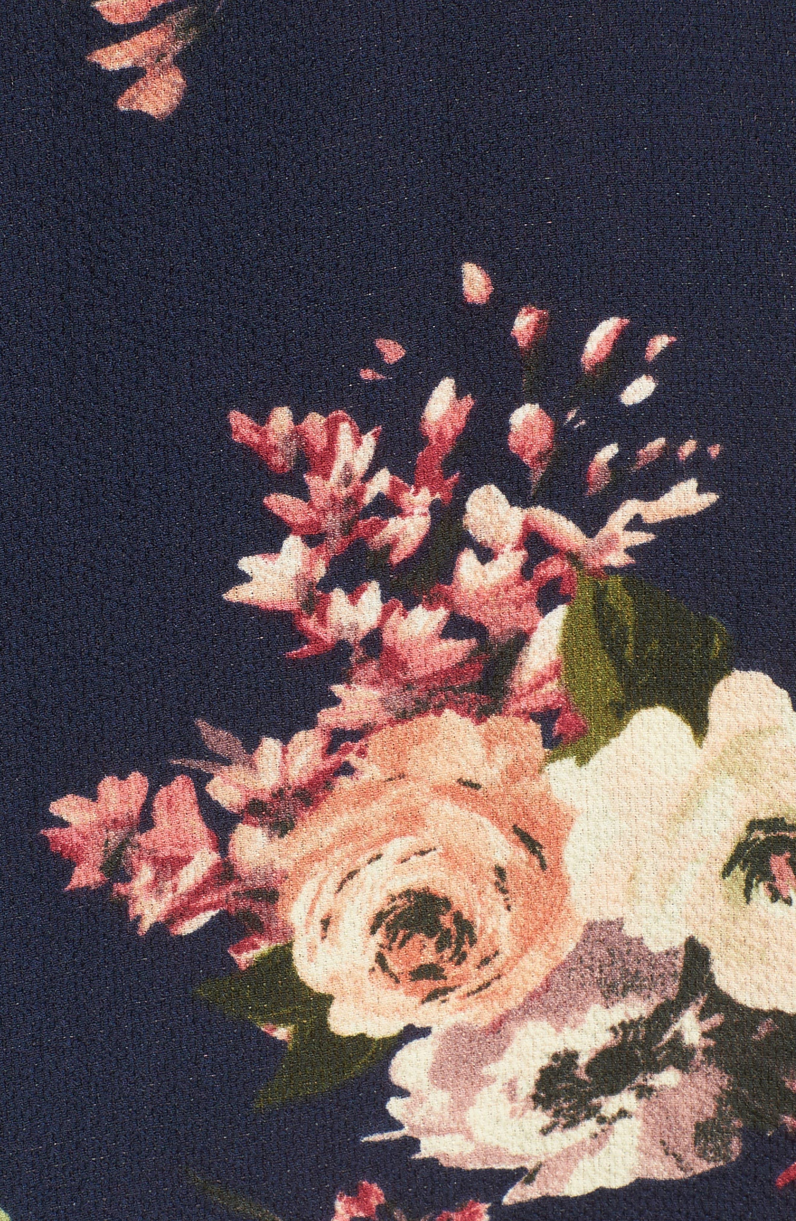 Alternate Image 5  - Halogen® Layered Floral Top