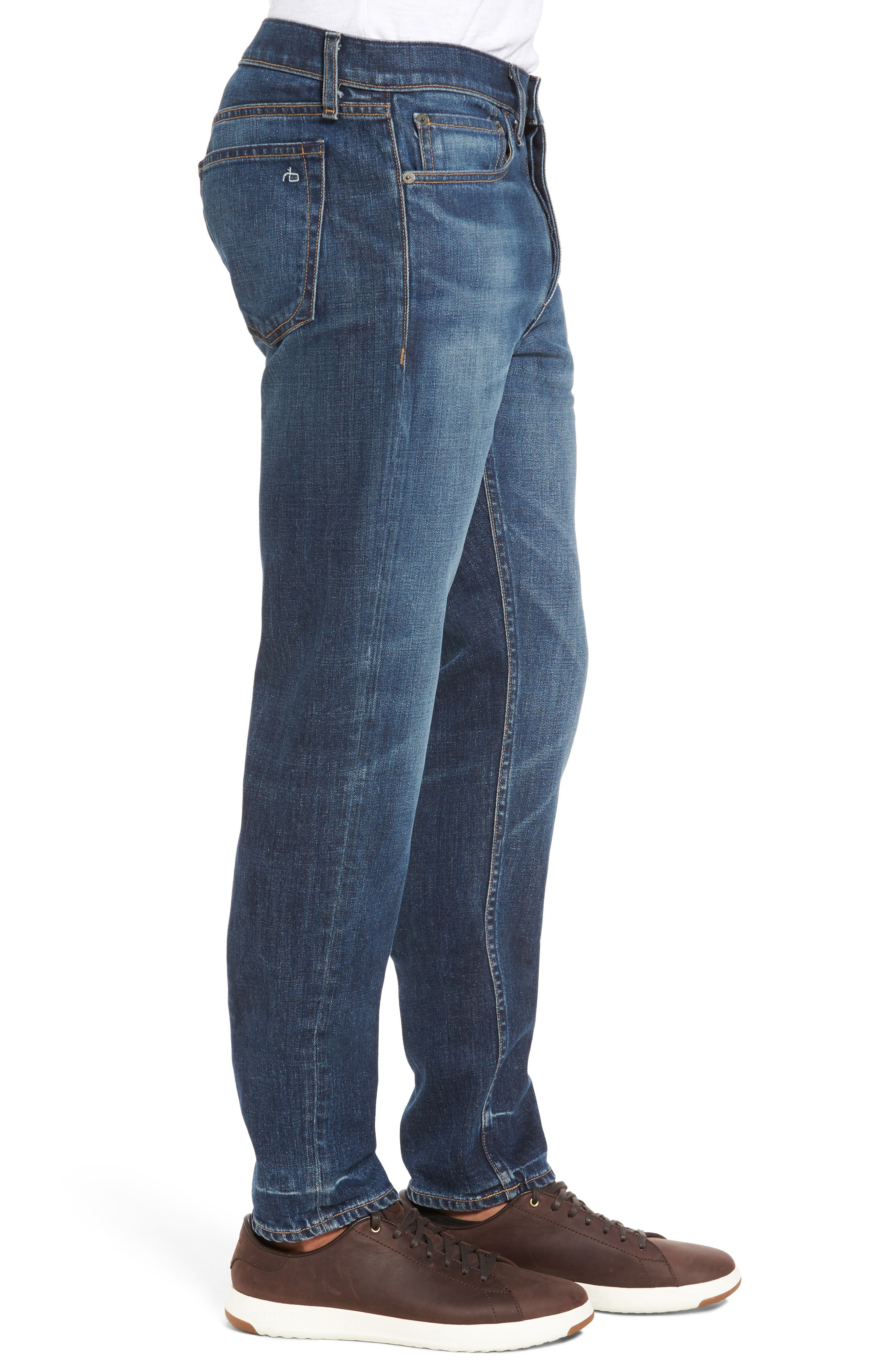 Alternate Image 3  - rag & bone Fit 2 Slim Fit Jeans (Linden)