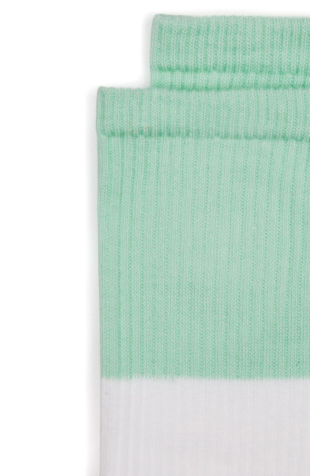 Alternate Image 2  - Topman Colorblock Tube Socks