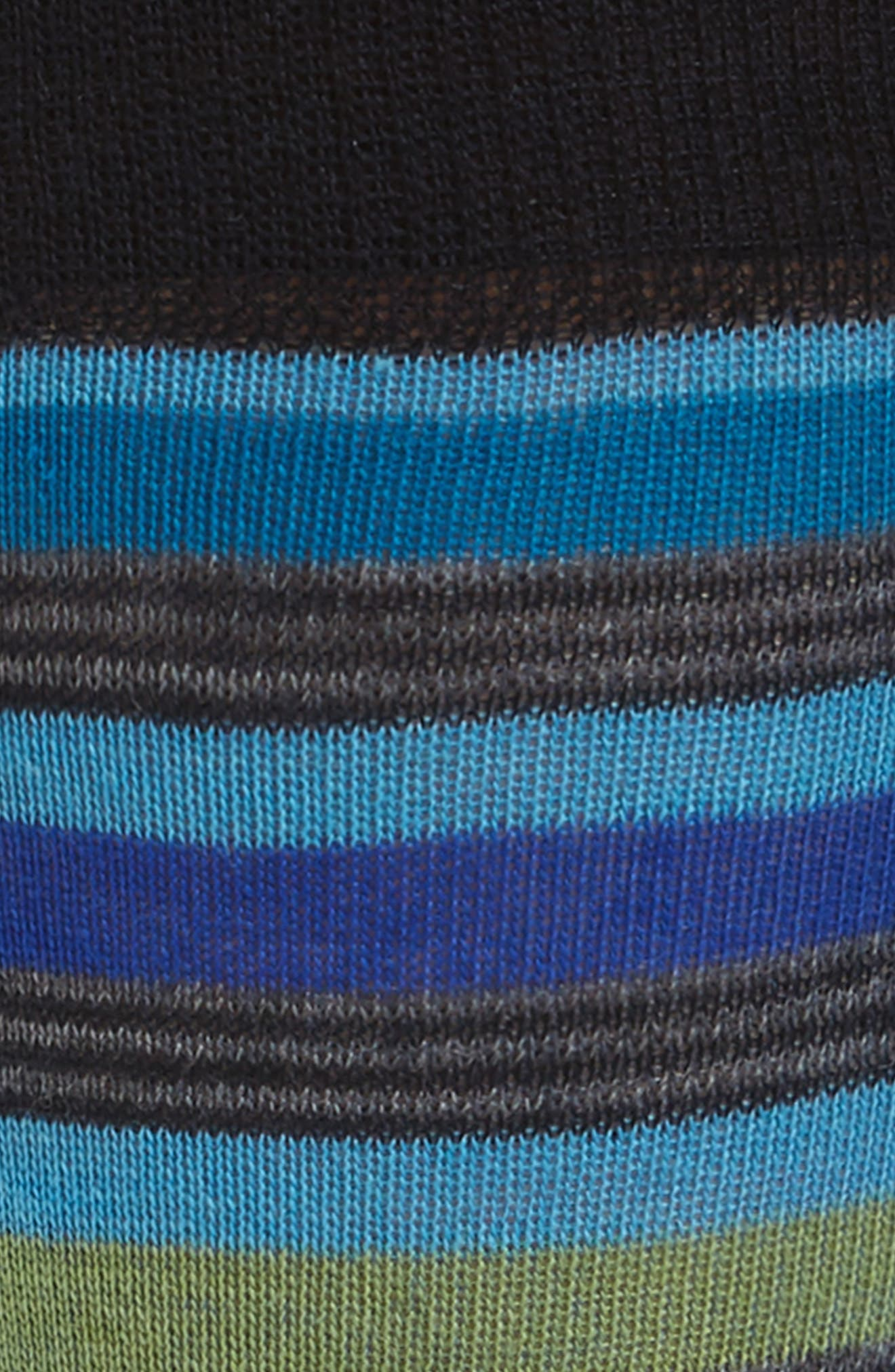 Stripe Crew Socks,                             Alternate thumbnail 2, color,                             Blue