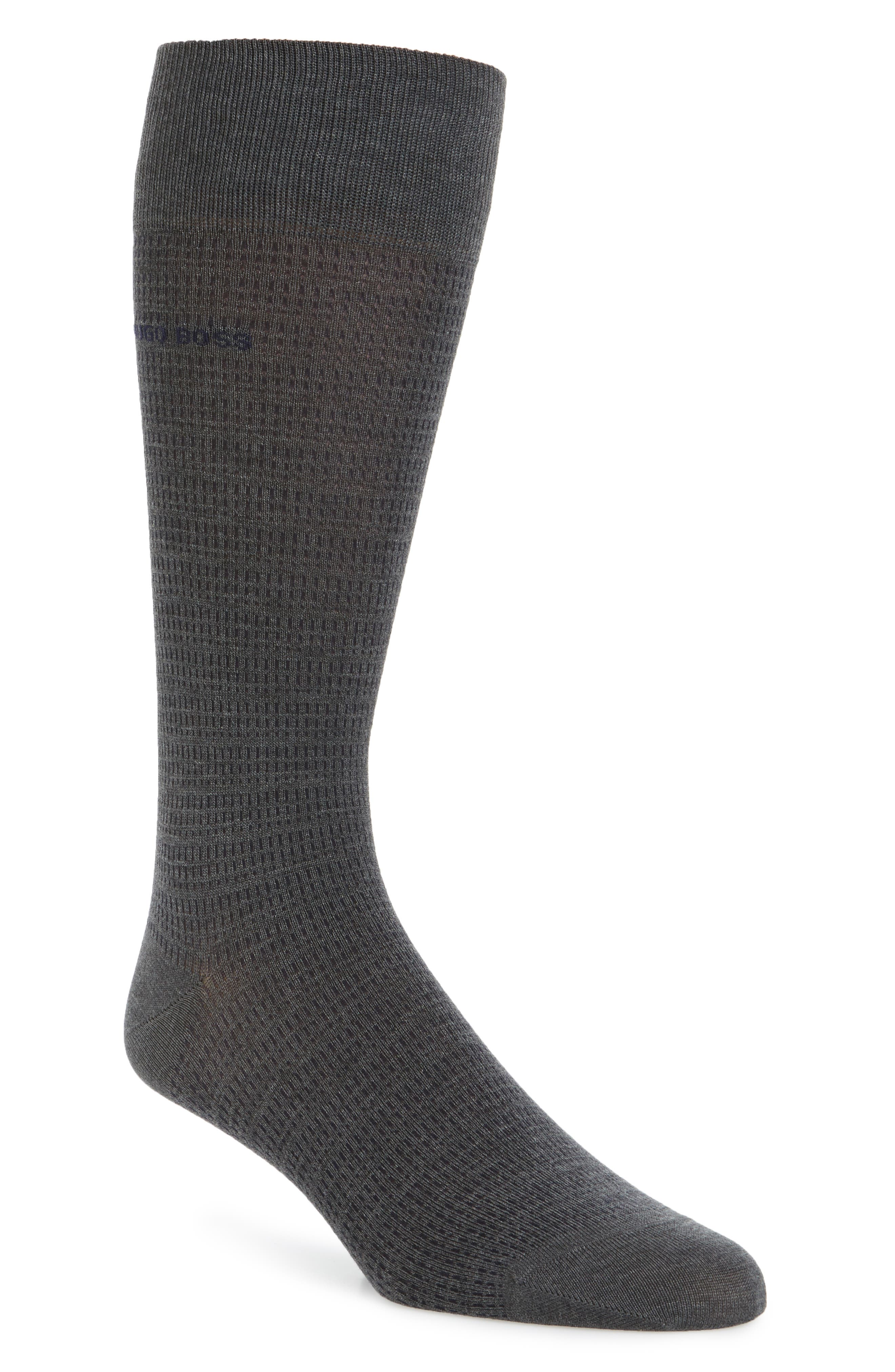BOSS Micro Jacquard Socks
