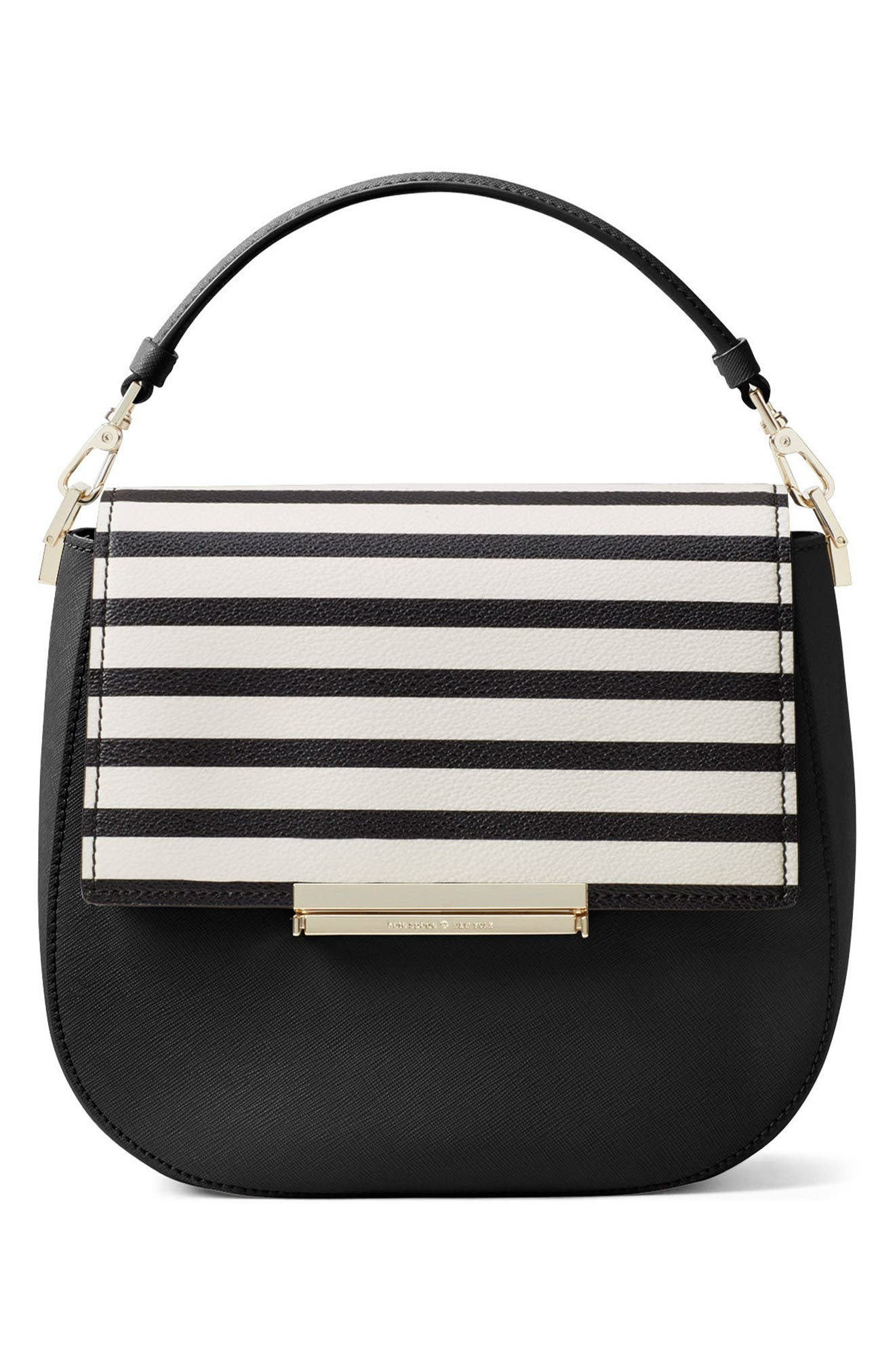 Alternate Image 3  - kate spade new york make it mine stripe snap-on accent flap