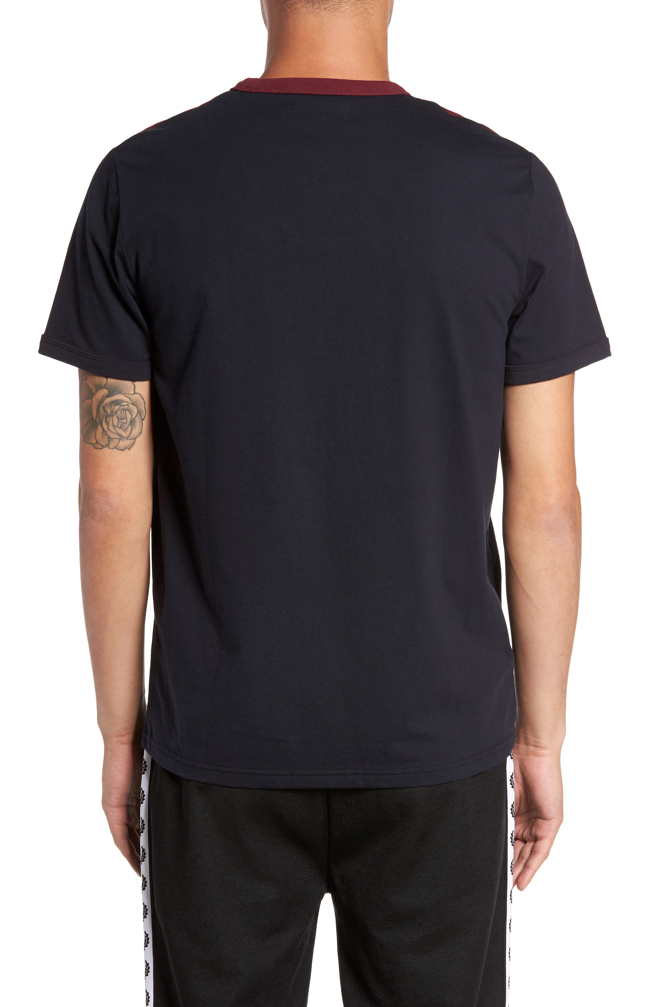 Alternate Image 2  - Fred Perry Colorblock T-Shirt