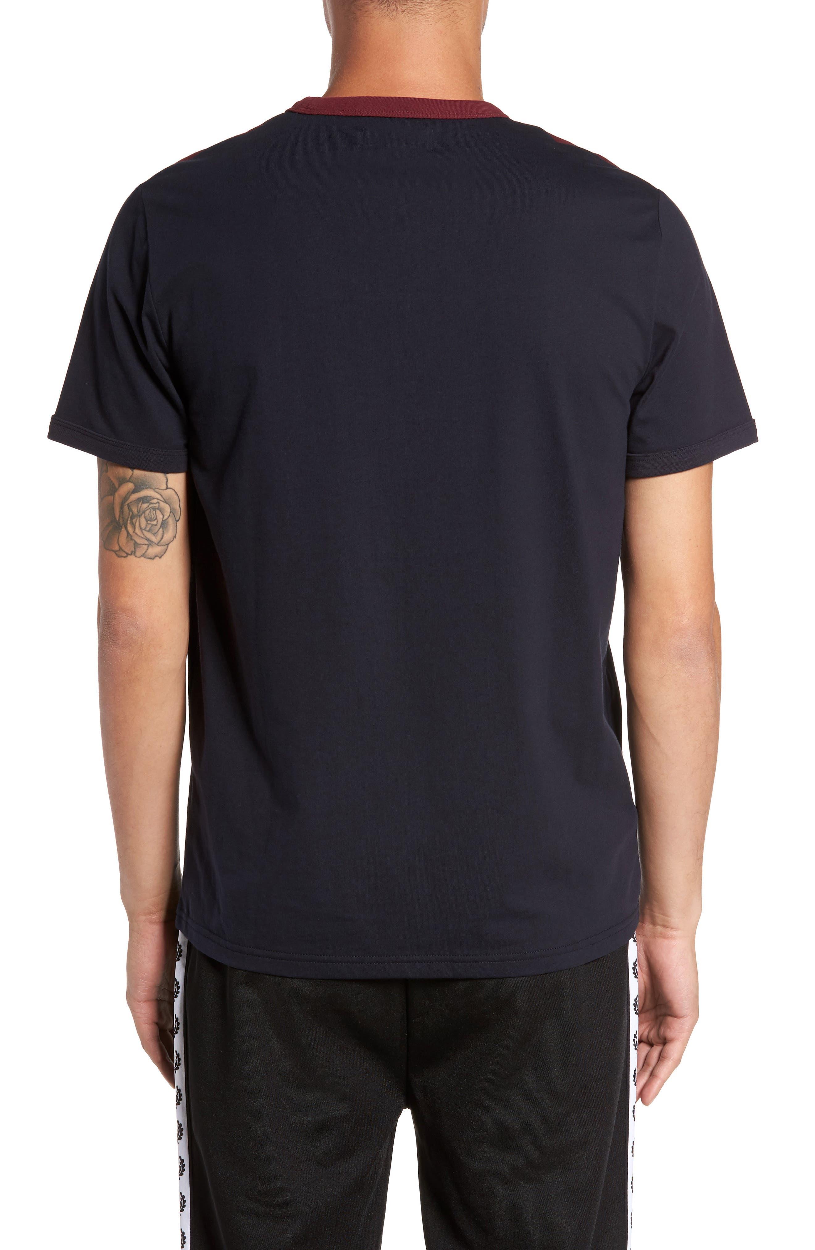 Colorblock T-Shirt,                             Alternate thumbnail 2, color,                             Navy