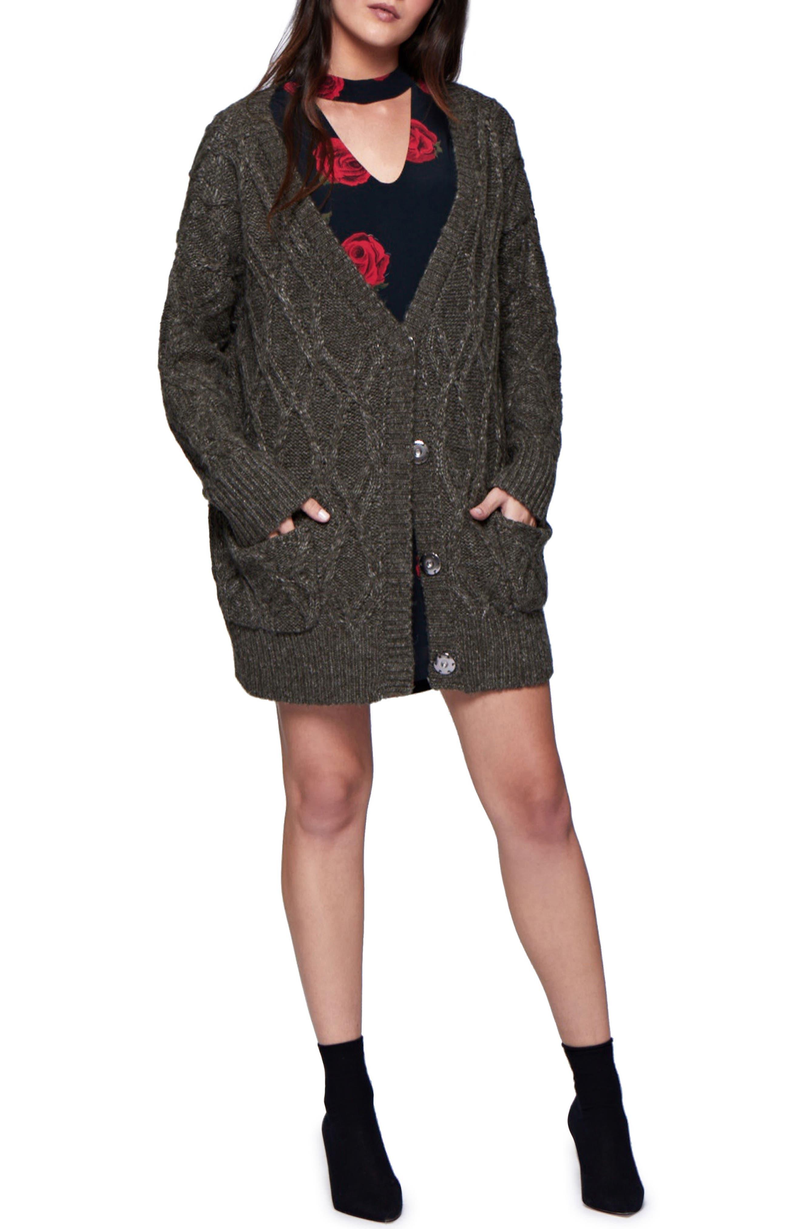 Main Image - Sanctuary Urban Knit Cardigan (Regular & Petite)