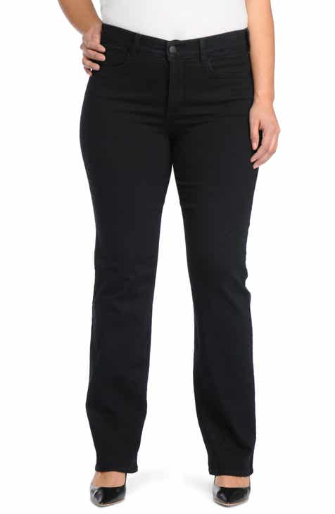a68cafd2159 NYDJ Marilyn Stretch Straight Leg Jeans (Plus Size)