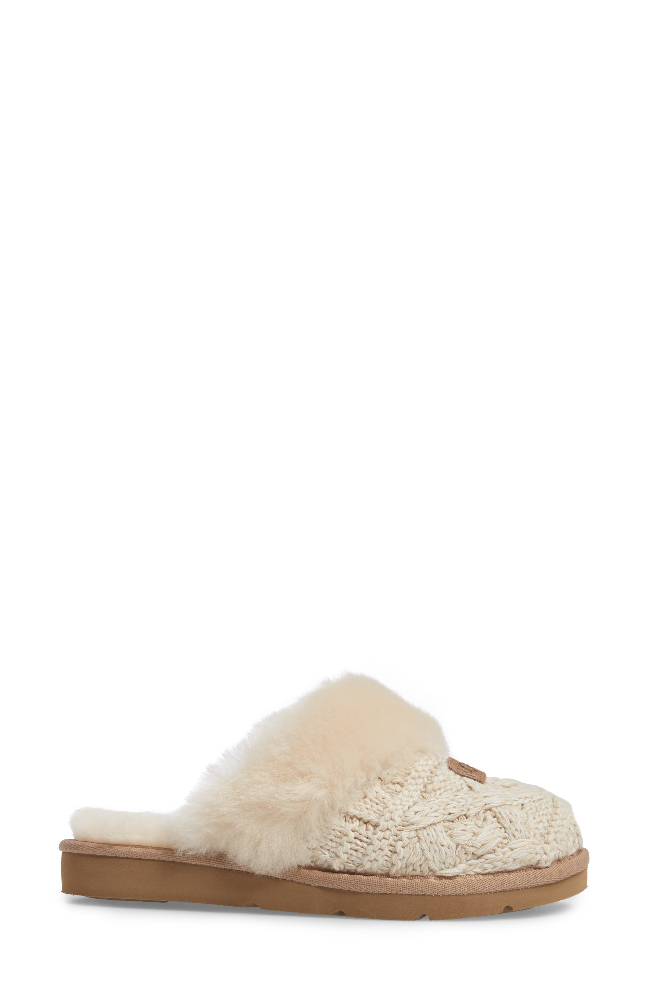 Alternate Image 3  - UGG® Cozy Cable Slipper (Women)