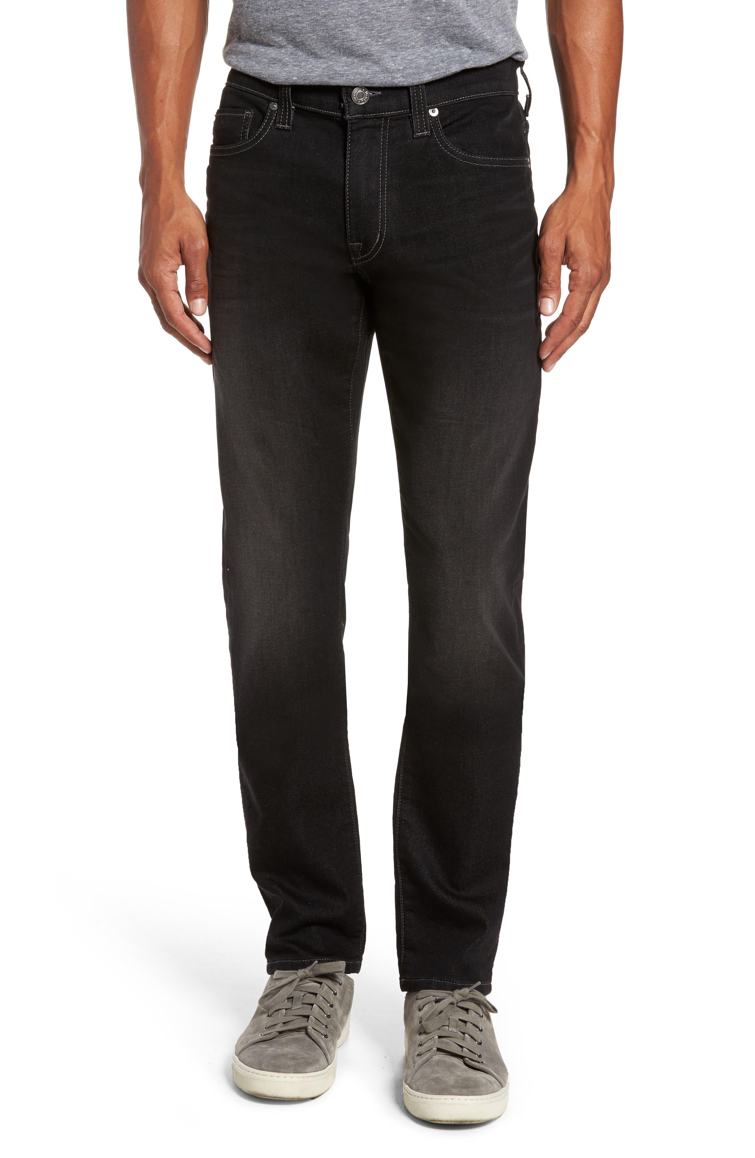 Torino Slim Fit Jeans,                         Main,                         color, Oxy Black On Black