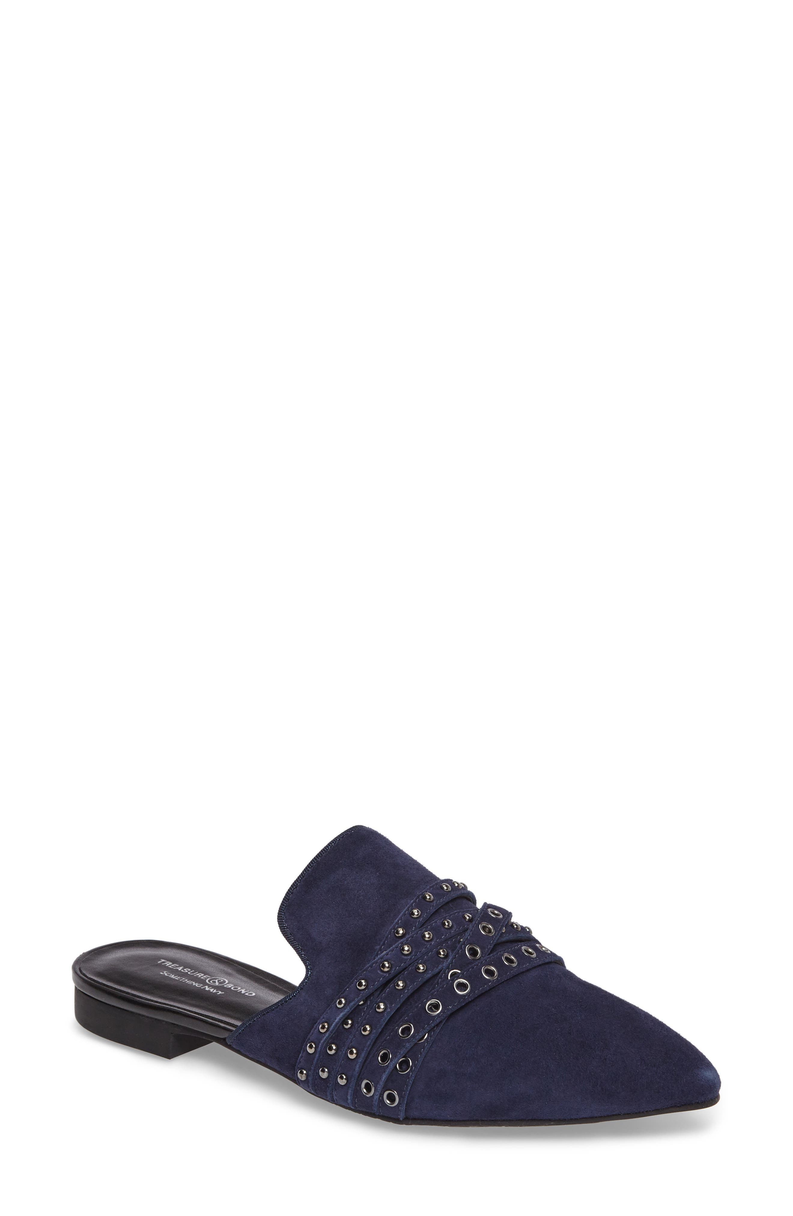 Treasure & Bond x Something Navy Kaine Strappy Mule (Women)
