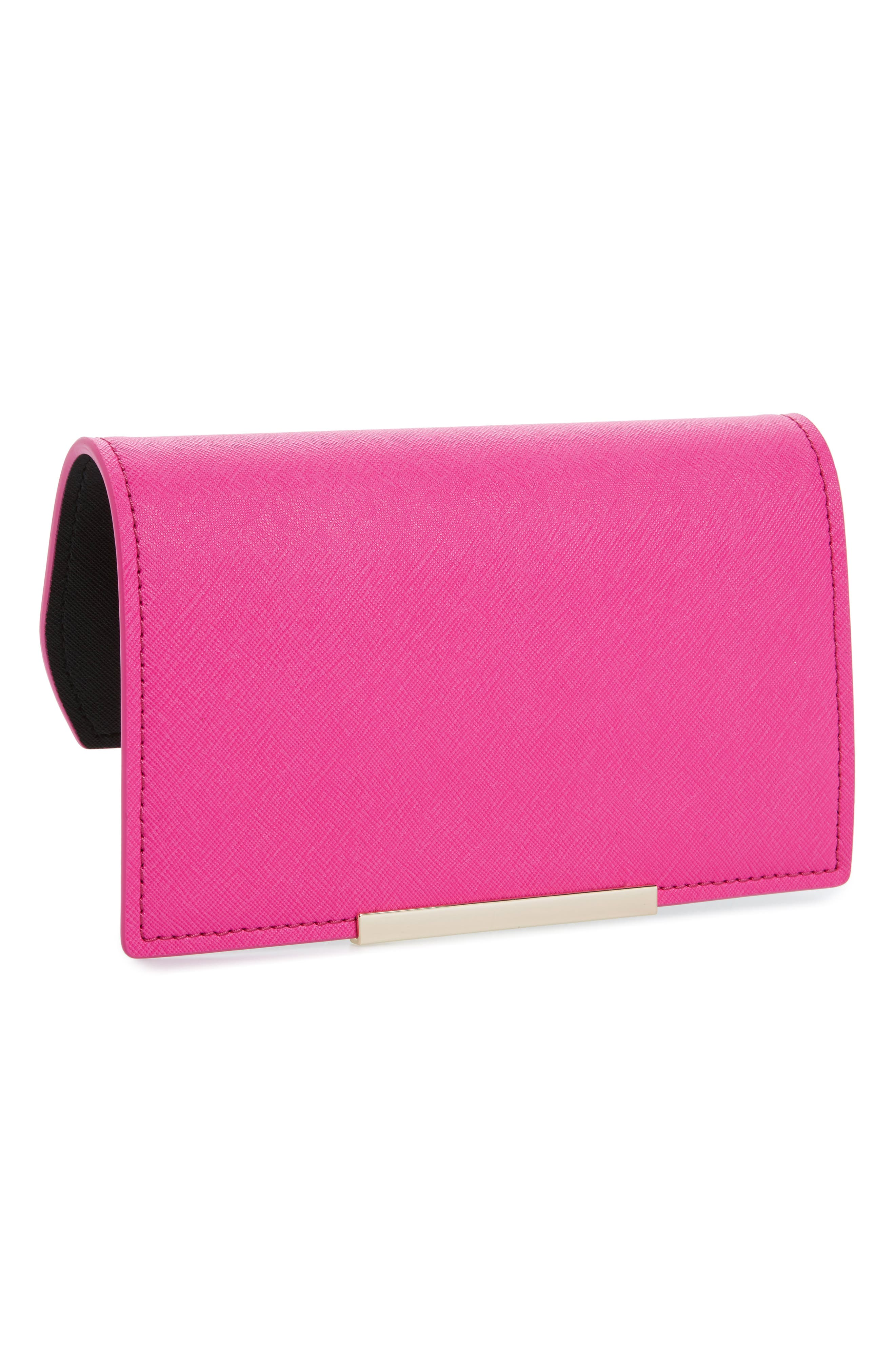 kate spade new york make it mine leather snap-on accent flap