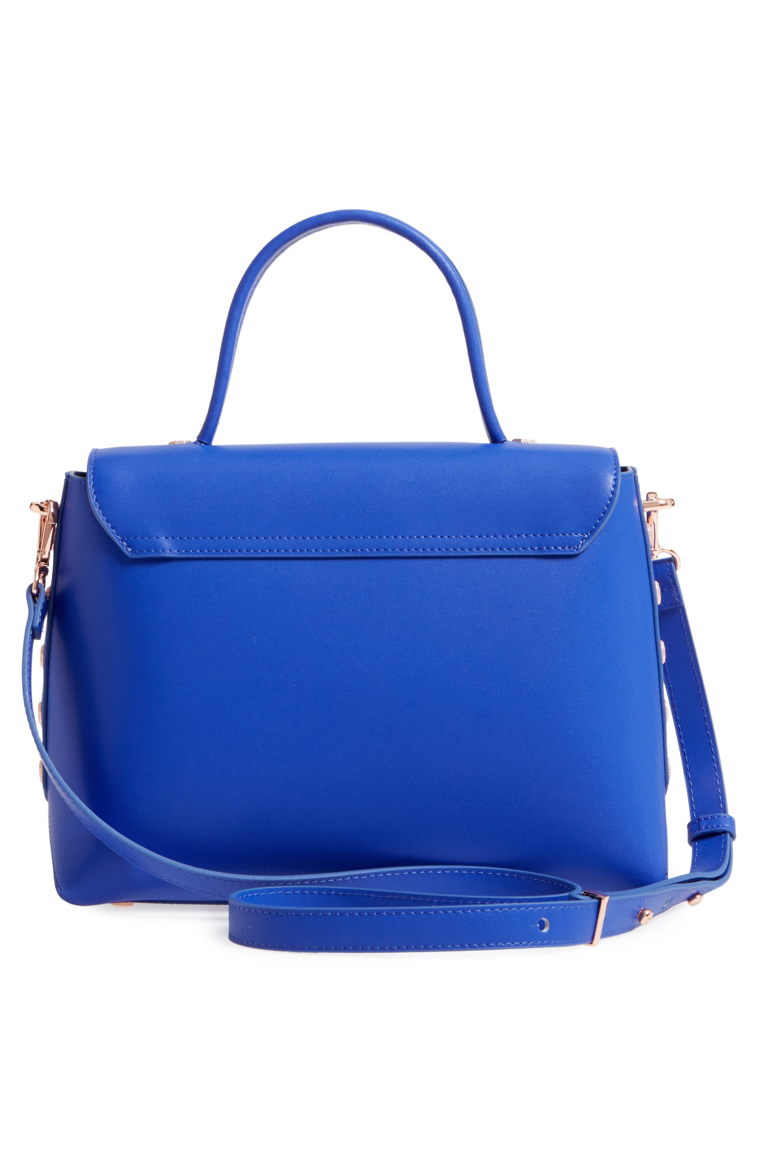 Alternate Image 2  - Ted Baker London Taymar - Studded Edge Lady Bag Leather Top Handle Satchel