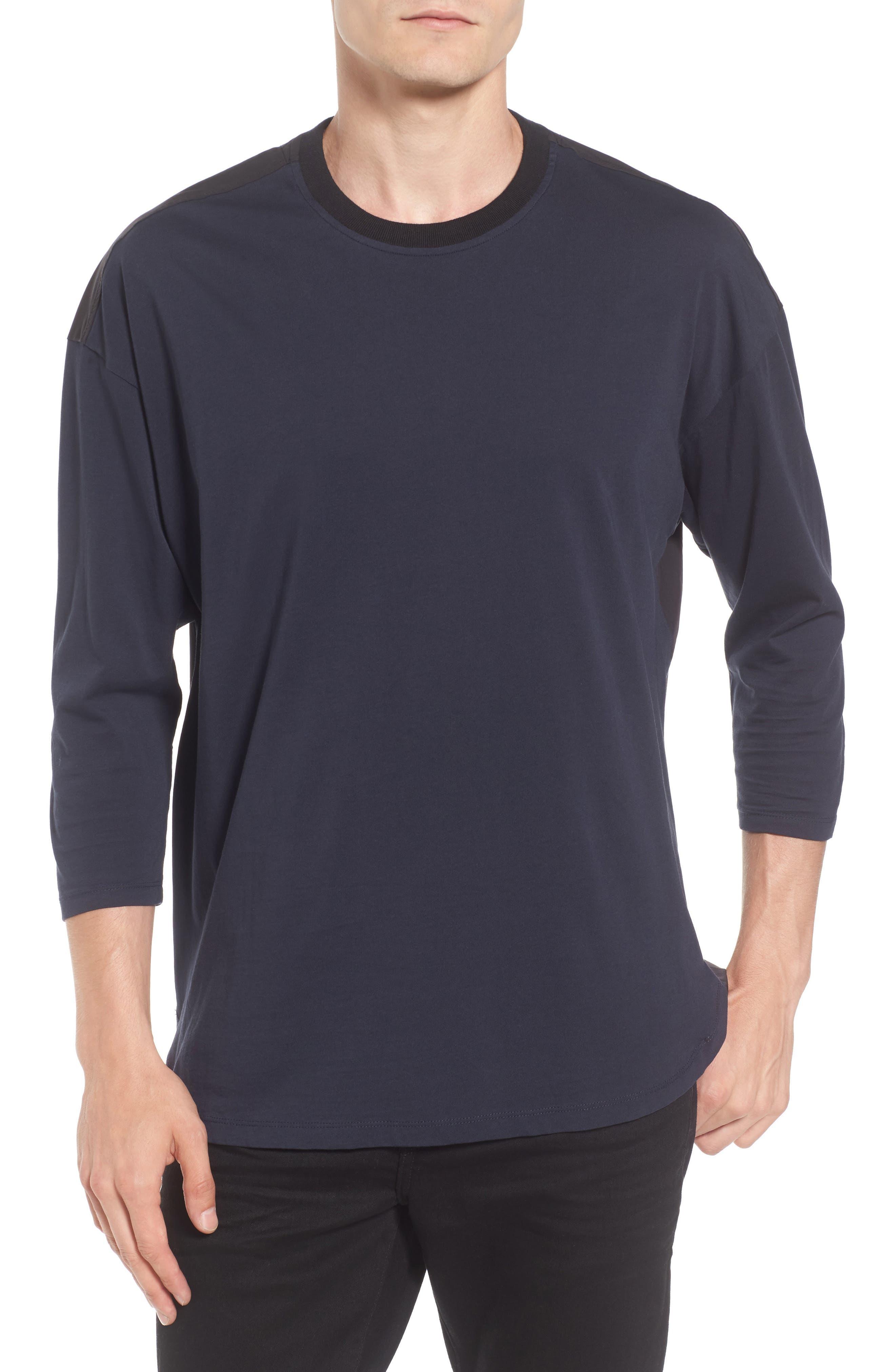 Main Image - Scotch & Soda Two-Tone T-Shirt