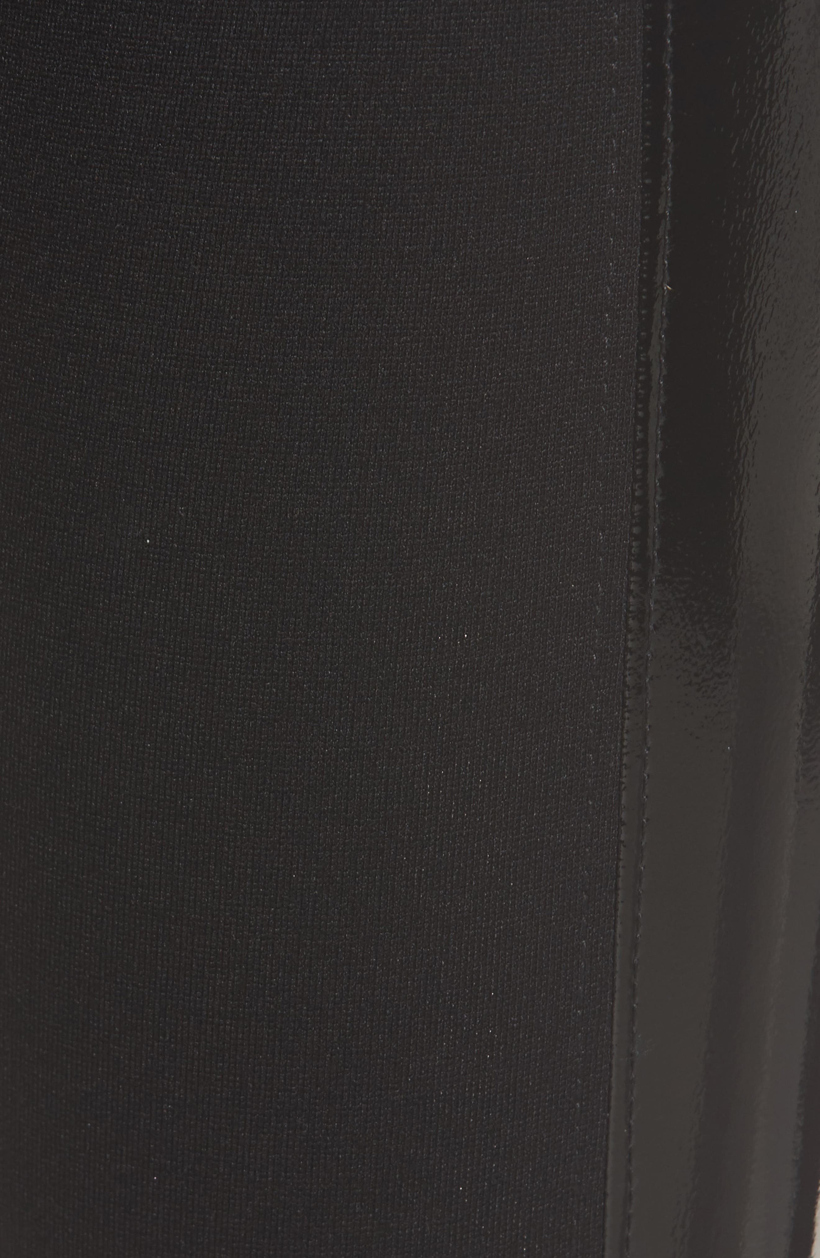 Starburst High Waist Leggings,                             Alternate thumbnail 6, color,                             Black
