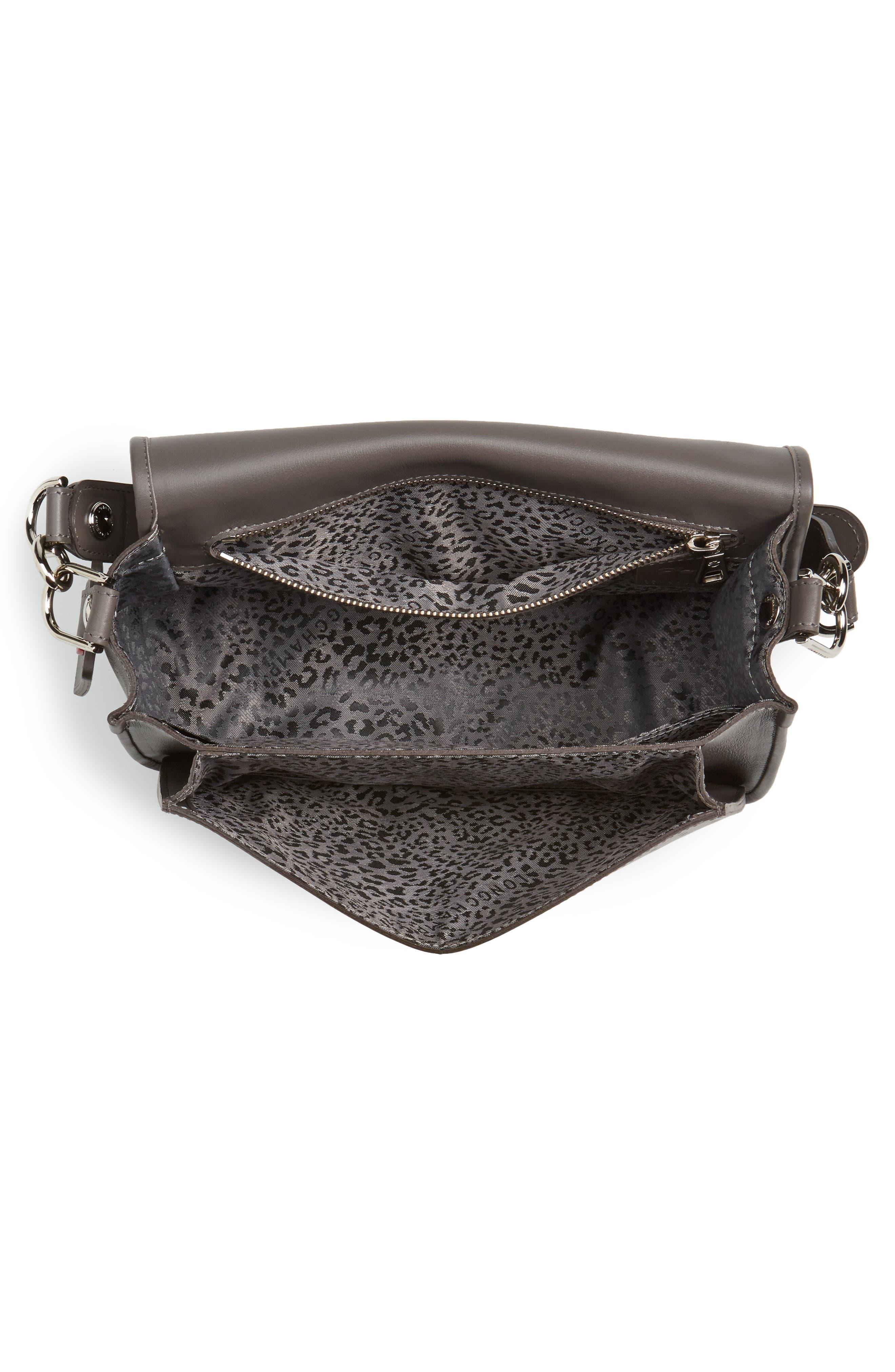Alternate Image 3  - Longchamp Mademoiselle Calfskin Leather Crossbody Bag