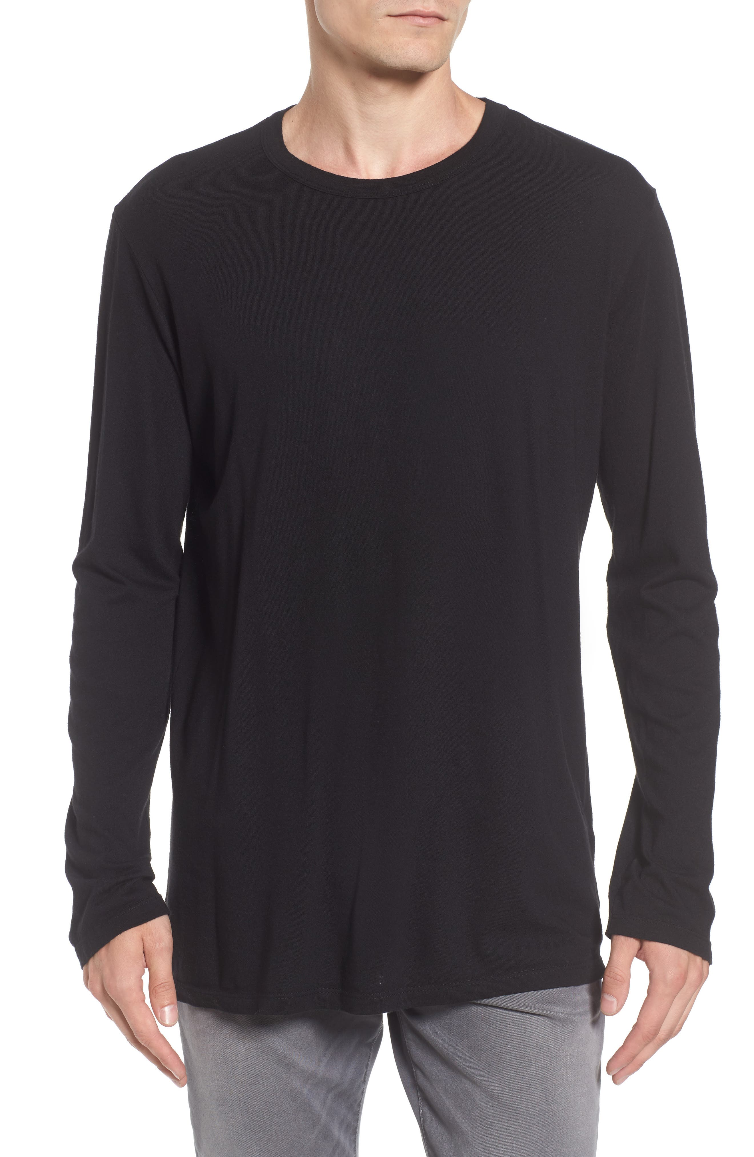 Baldwin Solid Long Sleeve T-Shirt
