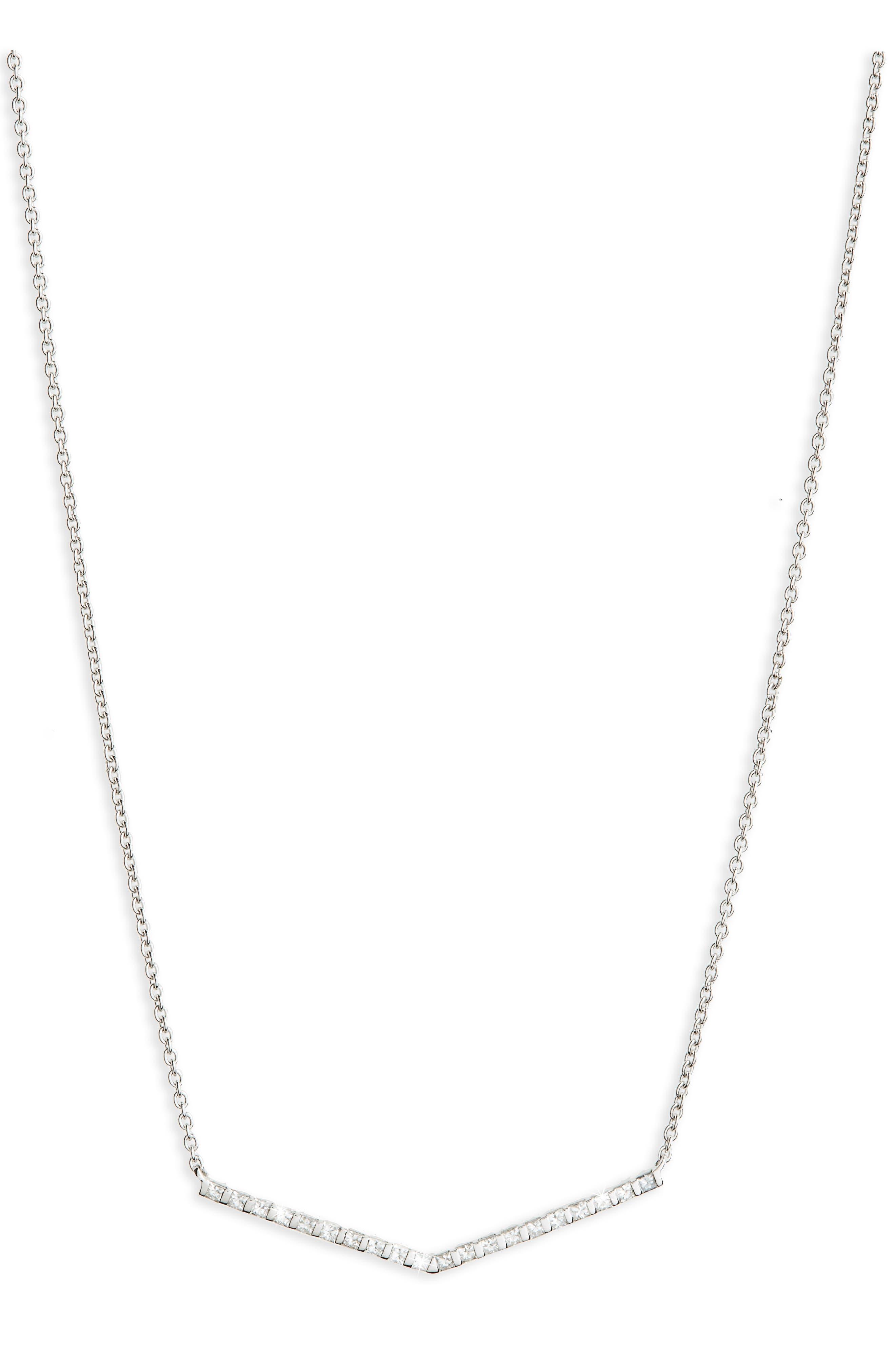 Bony Levy Geo Diamond Pendant Necklace (Nordstrom Exclusive)