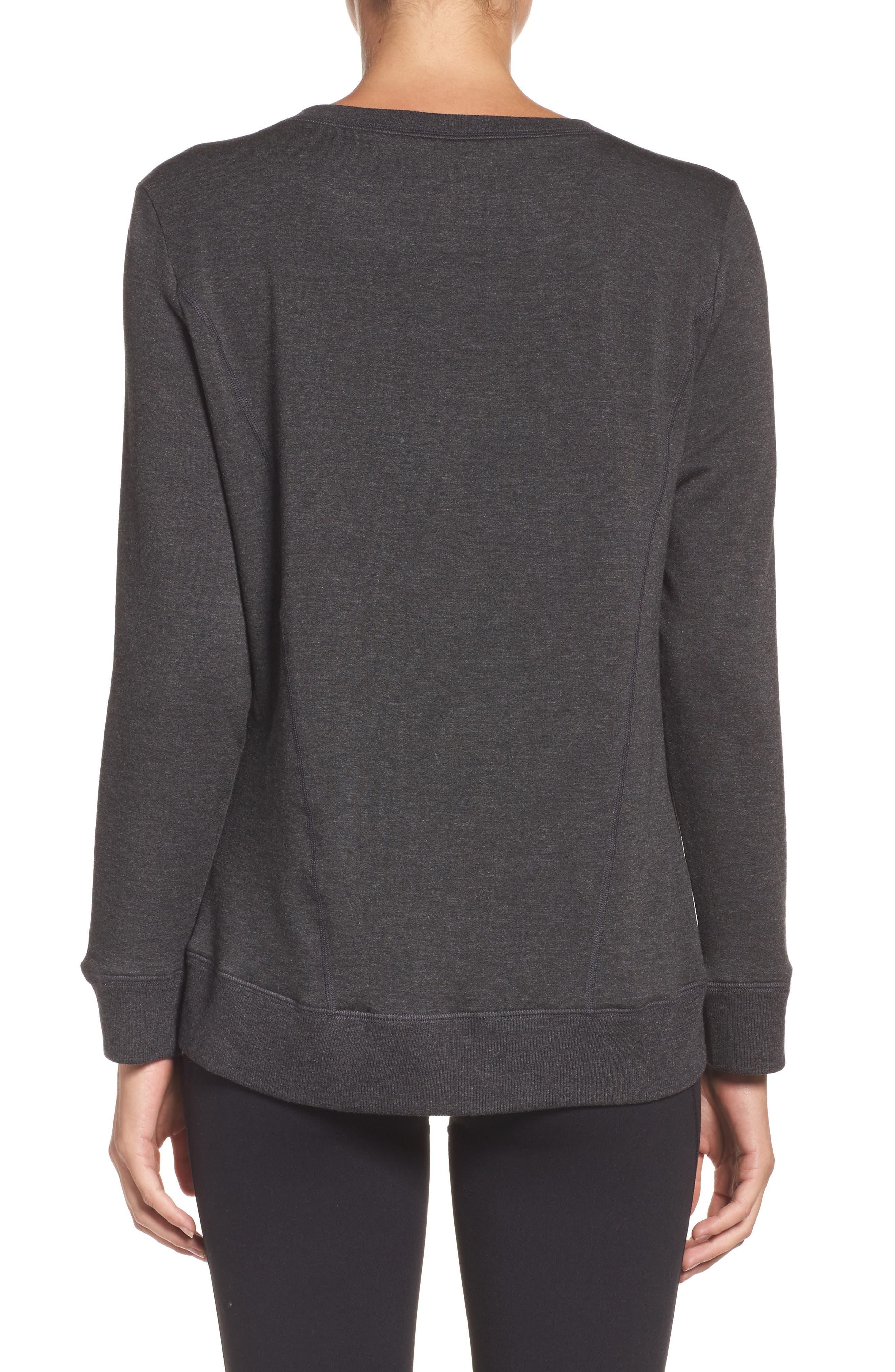 Alternate Image 2  - Beyond Yoga Fleece Pullover