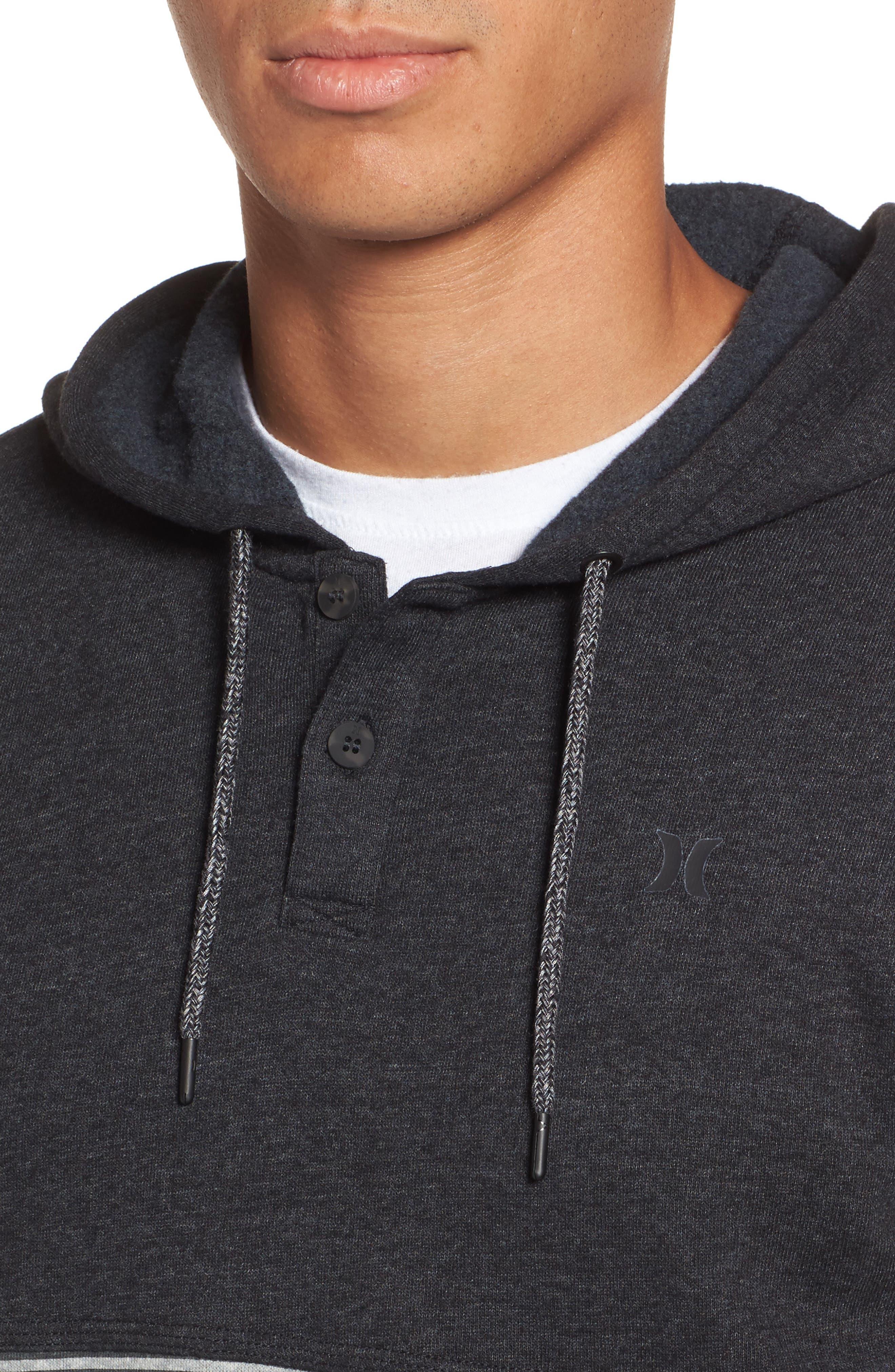 Alternate Image 4  - Hurley Bayside Pullover Hoodie
