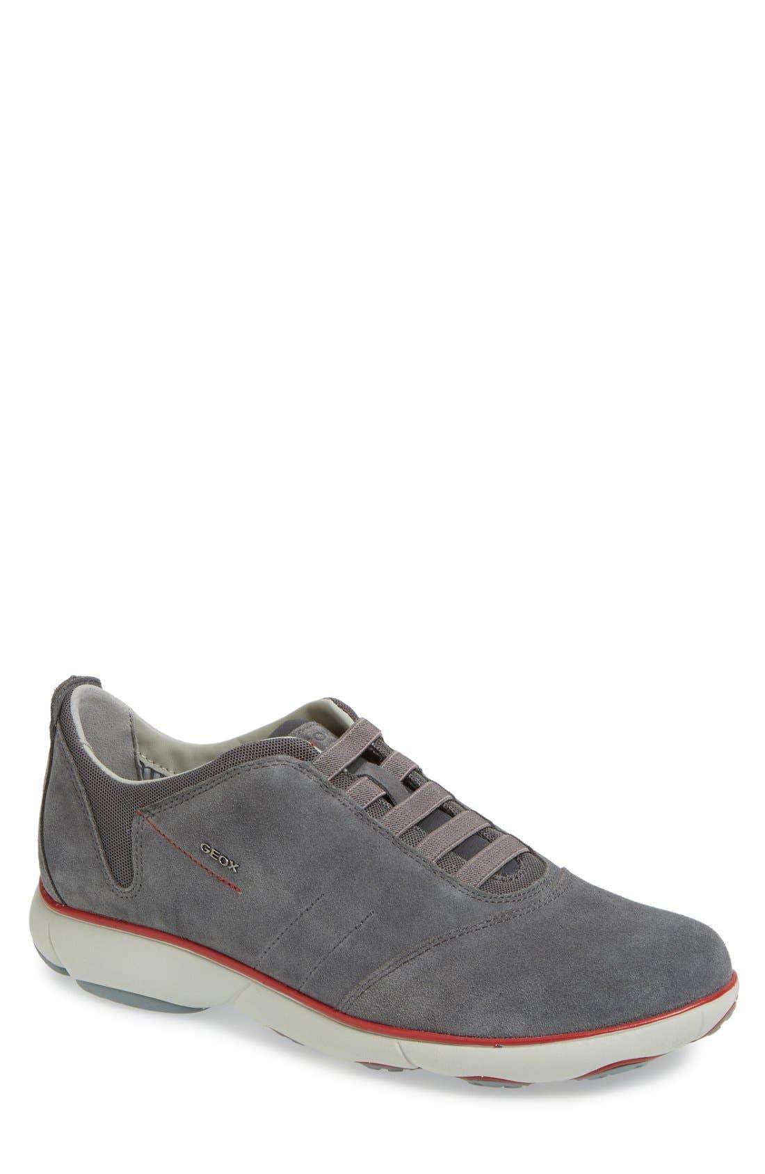 Alternate Image 1 Selected - Geox 'Nebula 7' Slip-On Sneaker (Men)