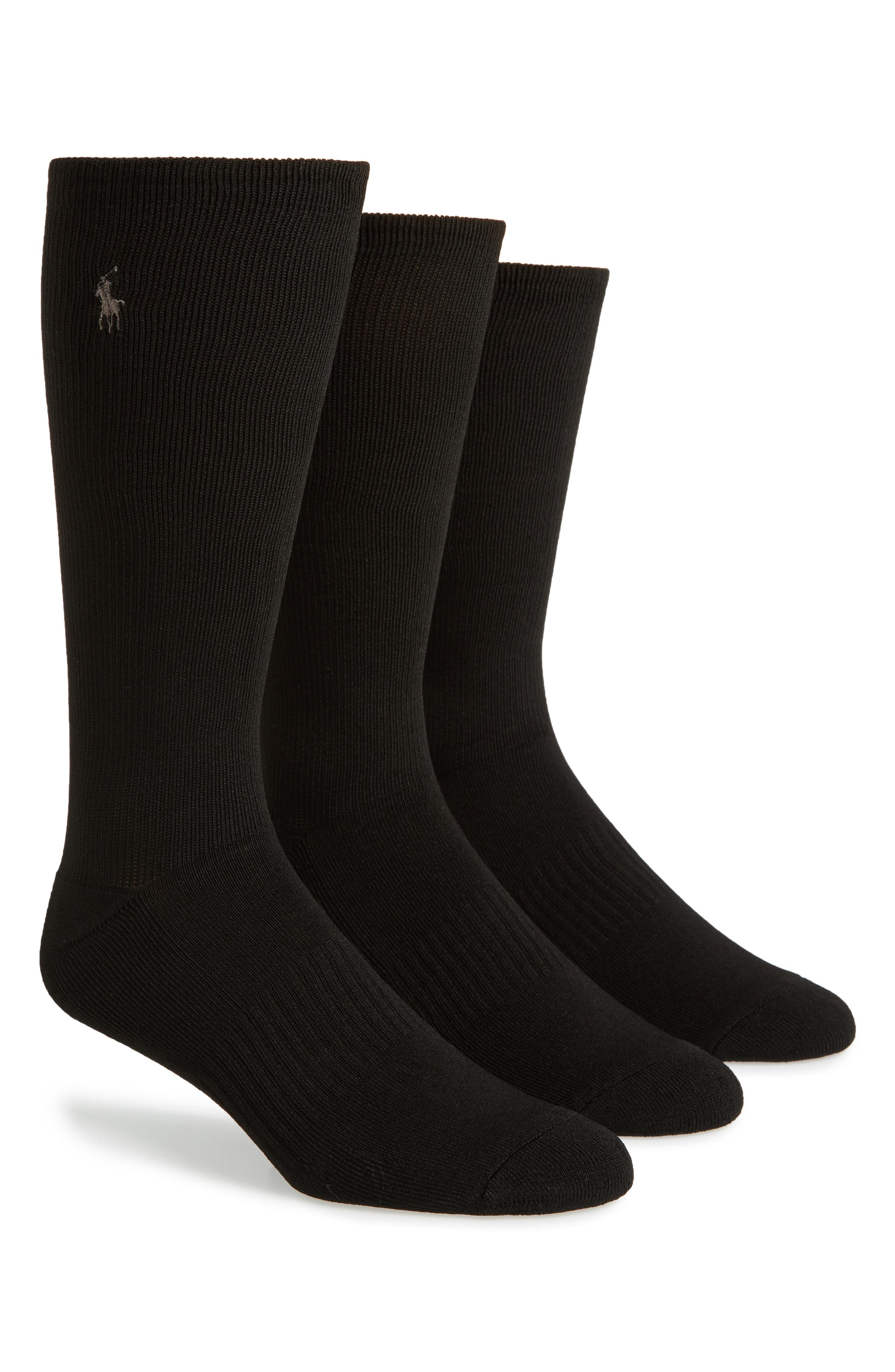 Polo Ralph Lauren 3-Pack Compression Socks