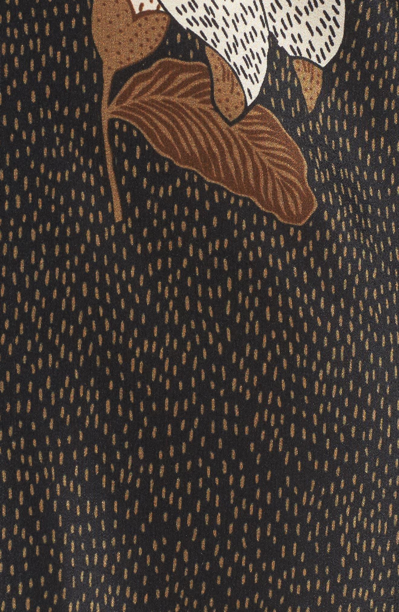 Rex Silk Jacket Dress,                             Alternate thumbnail 6, color,                             Dries