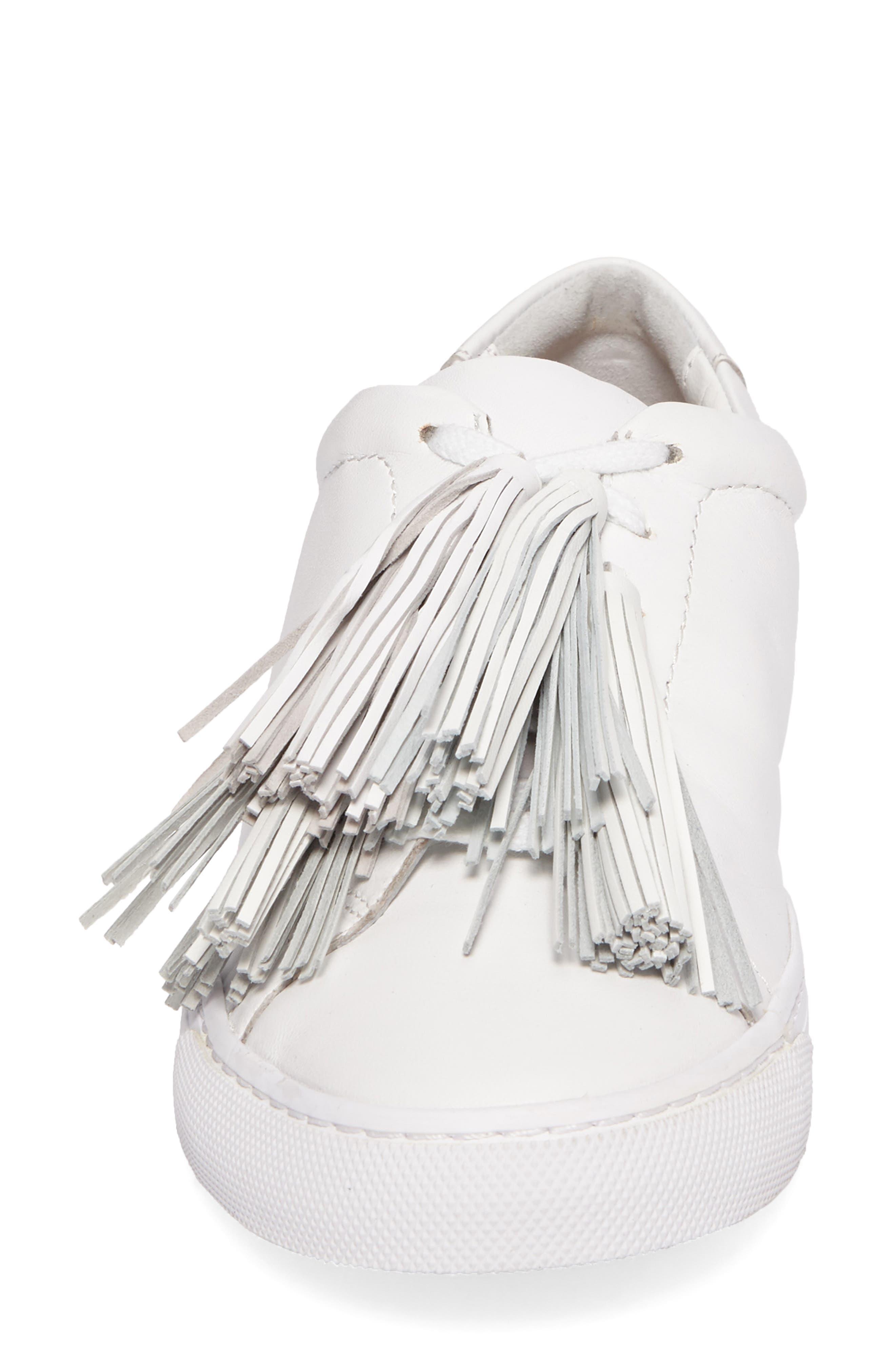Logan Sneaker,                             Alternate thumbnail 5, color,                             Optic White
