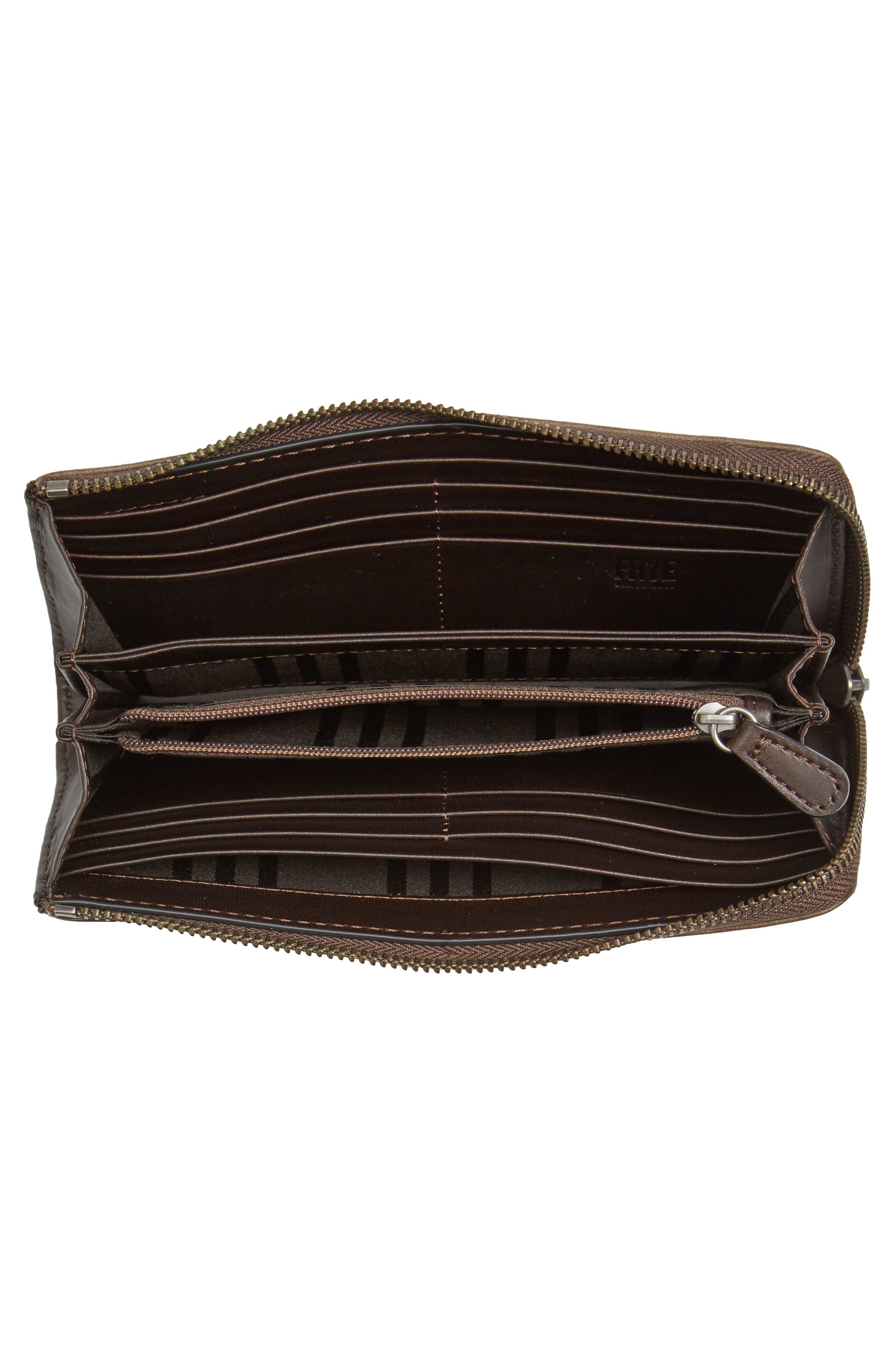 Alternate Image 2  - Frye Melissa Leather Wallet