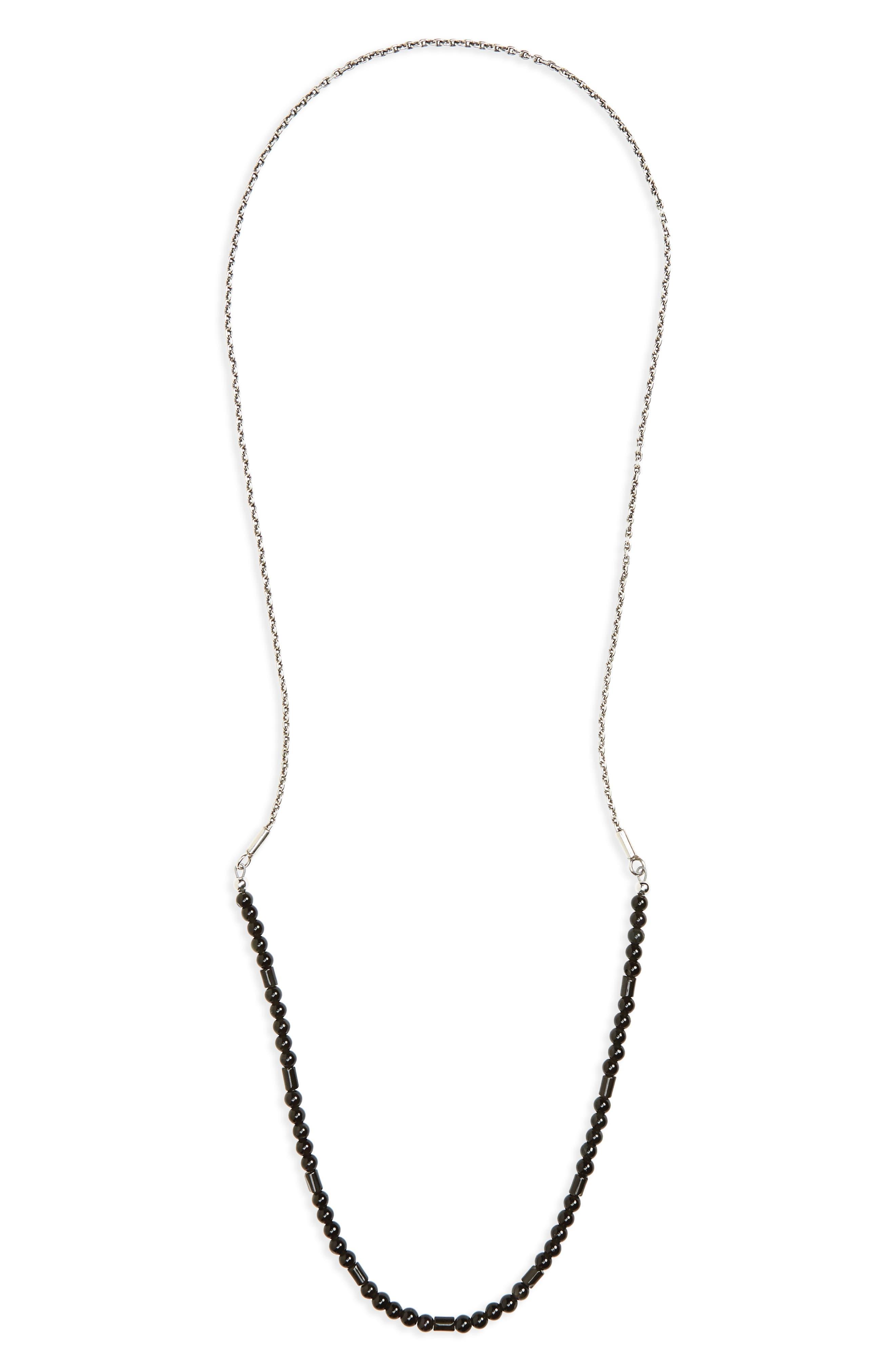 Caputo & Co. Sterling Silver & Stone Necklace