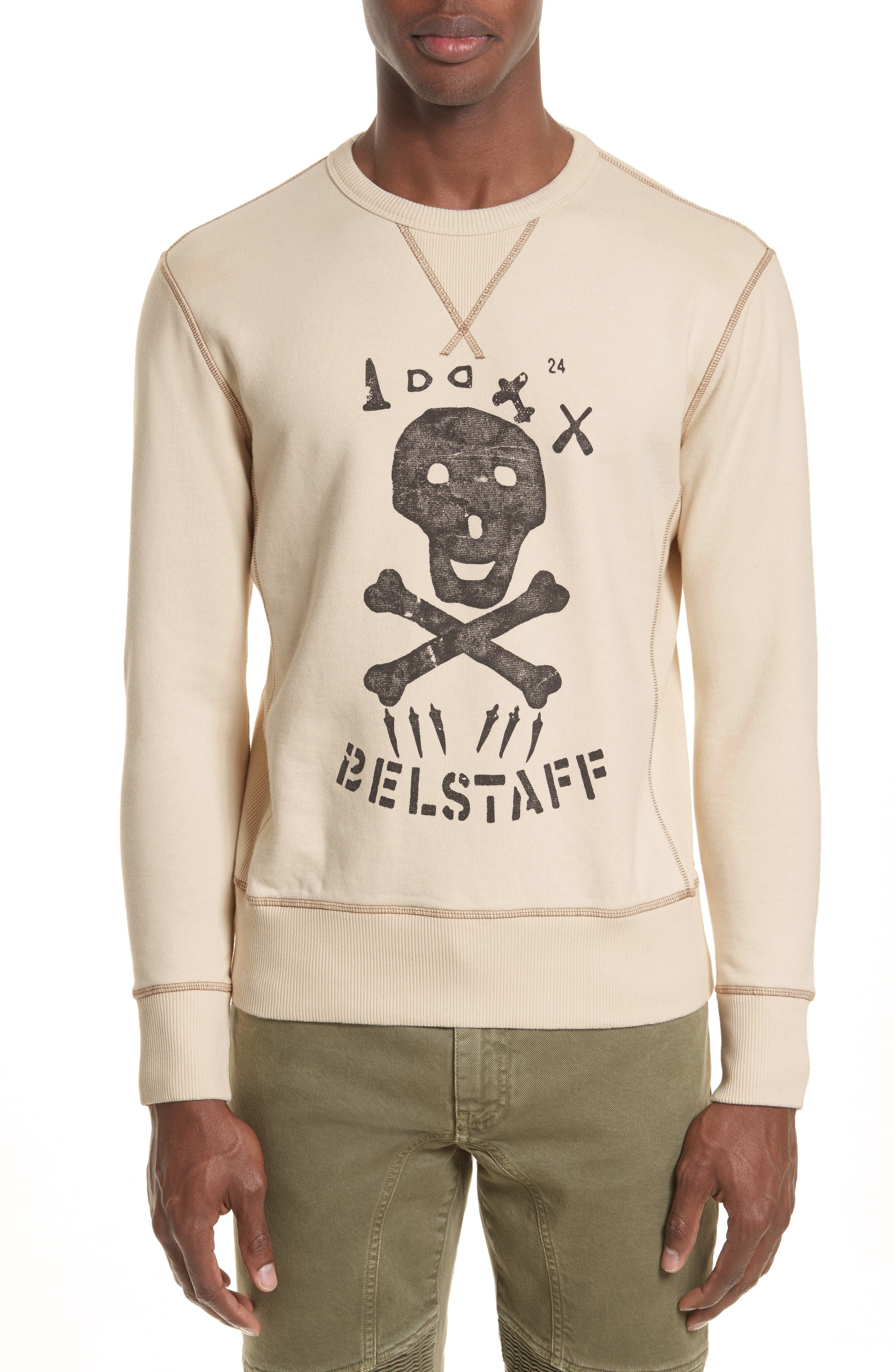 Belstaff Trimley Skull Graphic Sweatshirt