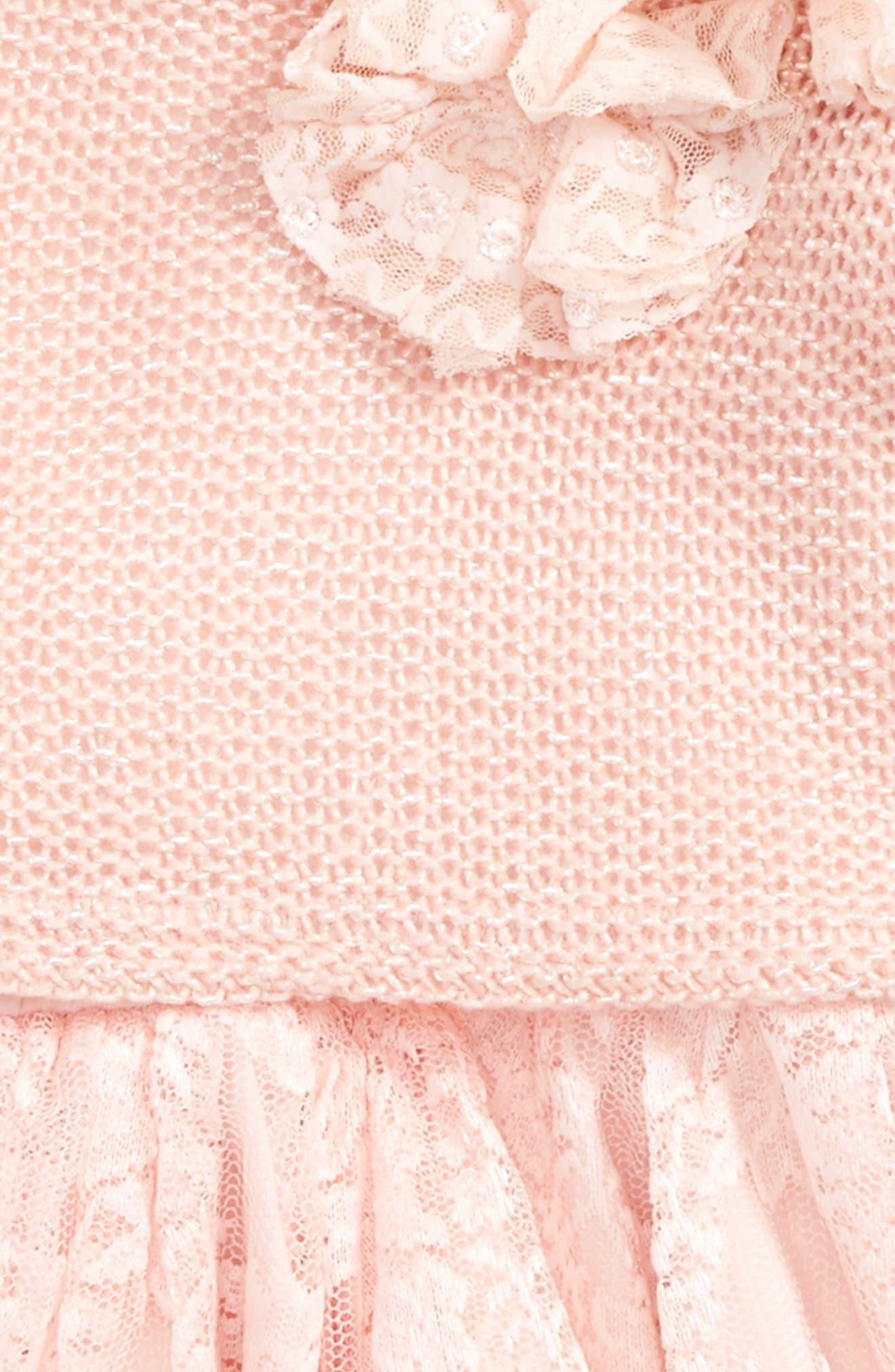 Sweater & Dress Set,                             Alternate thumbnail 2, color,                             Pink