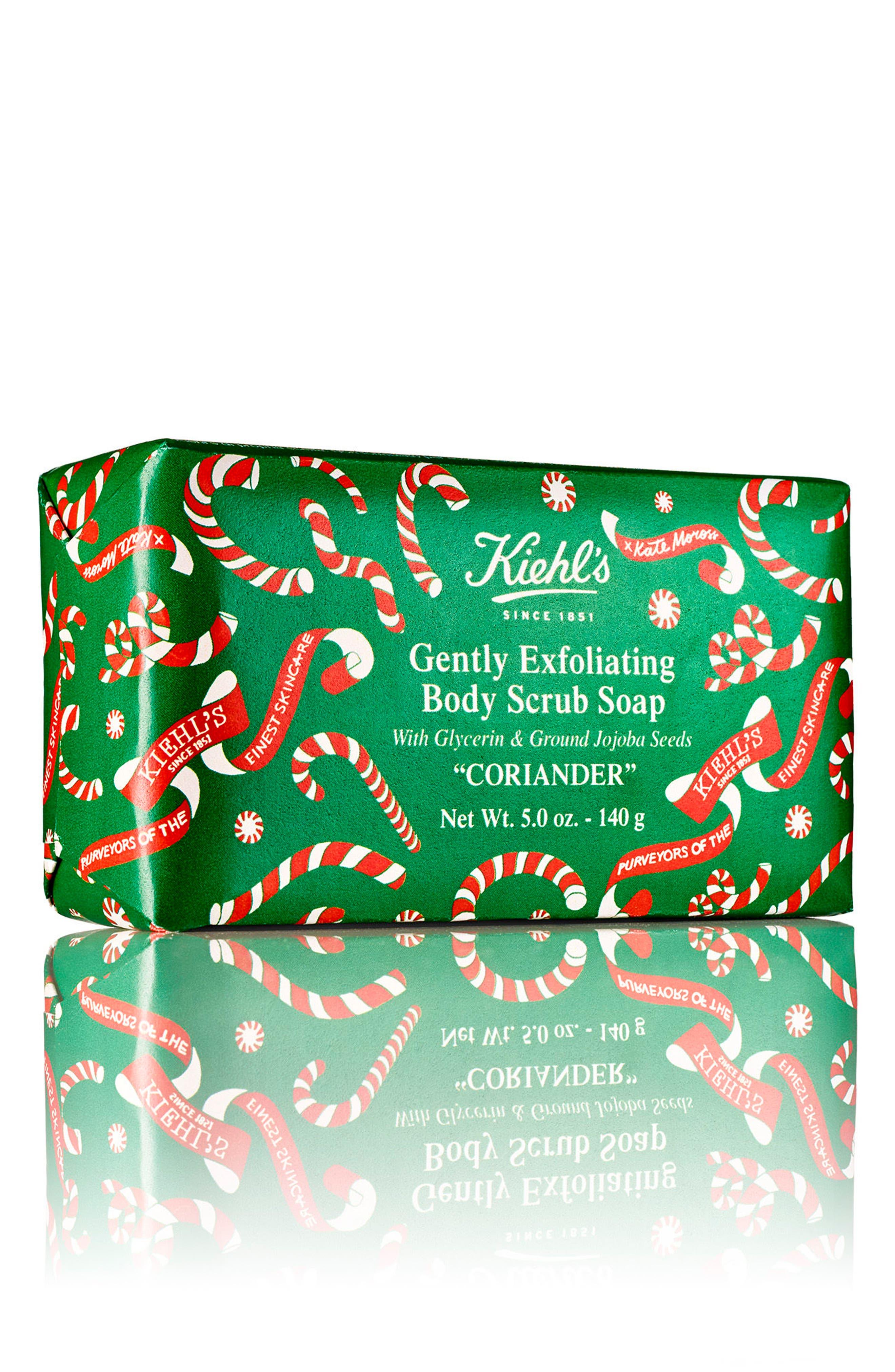Gently Exfoliating Body Scrub Soap Bar,                         Main,                         color, Coriander
