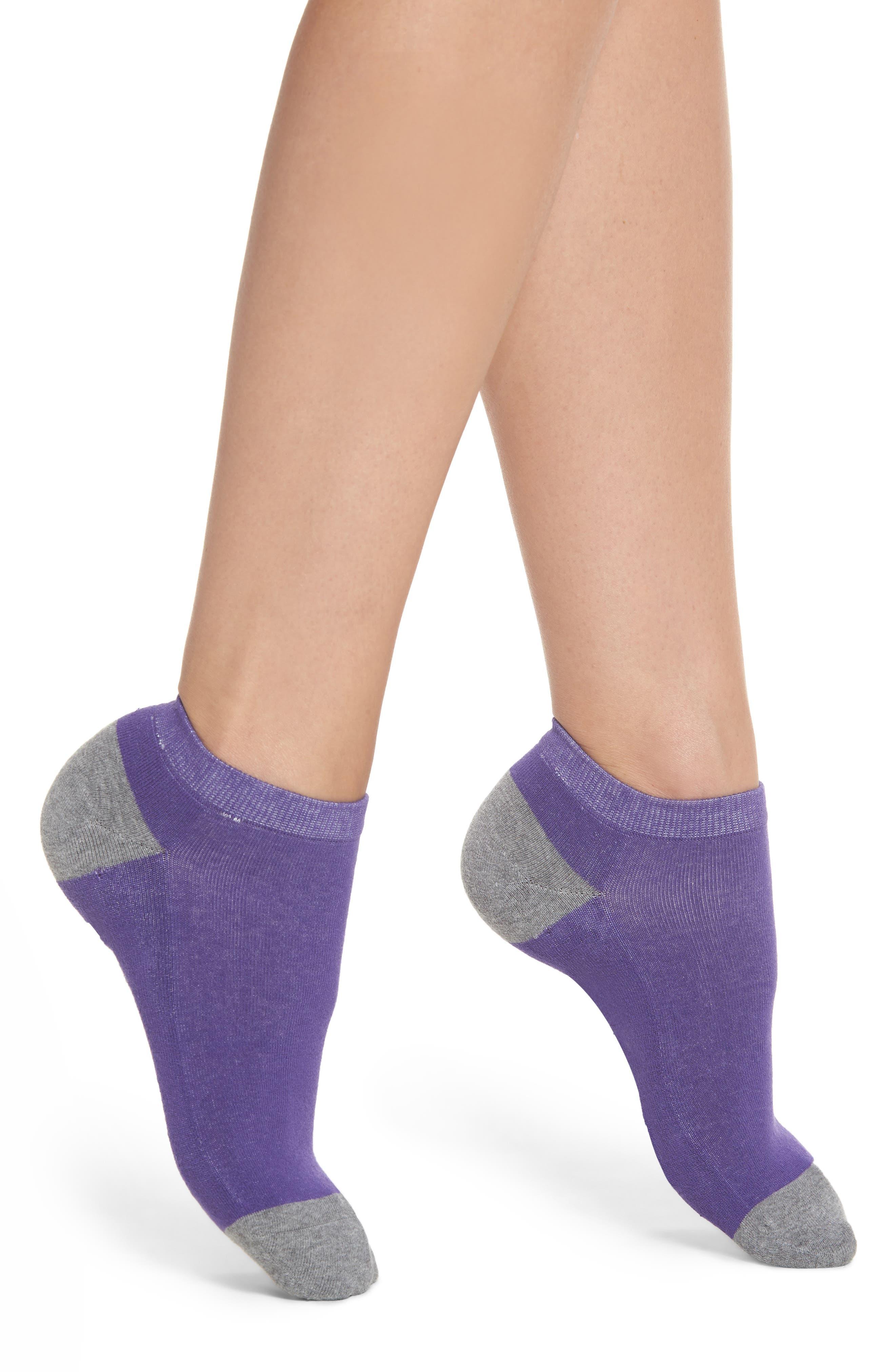 Dog Mom Ankle Socks,                             Alternate thumbnail 2, color,                             Purple