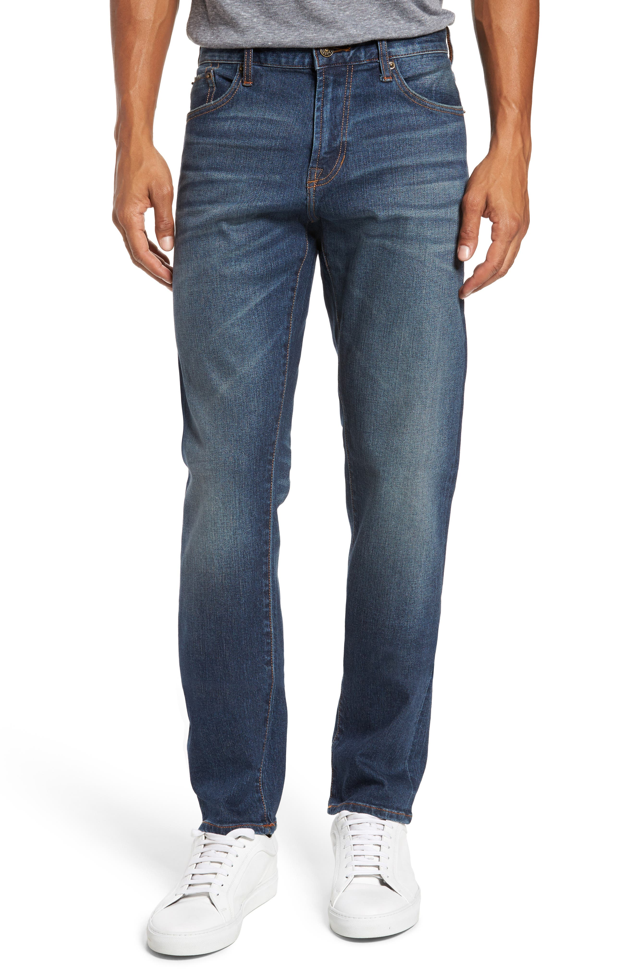 Jean Shop Slim Straight Leg Jeans (Albany)