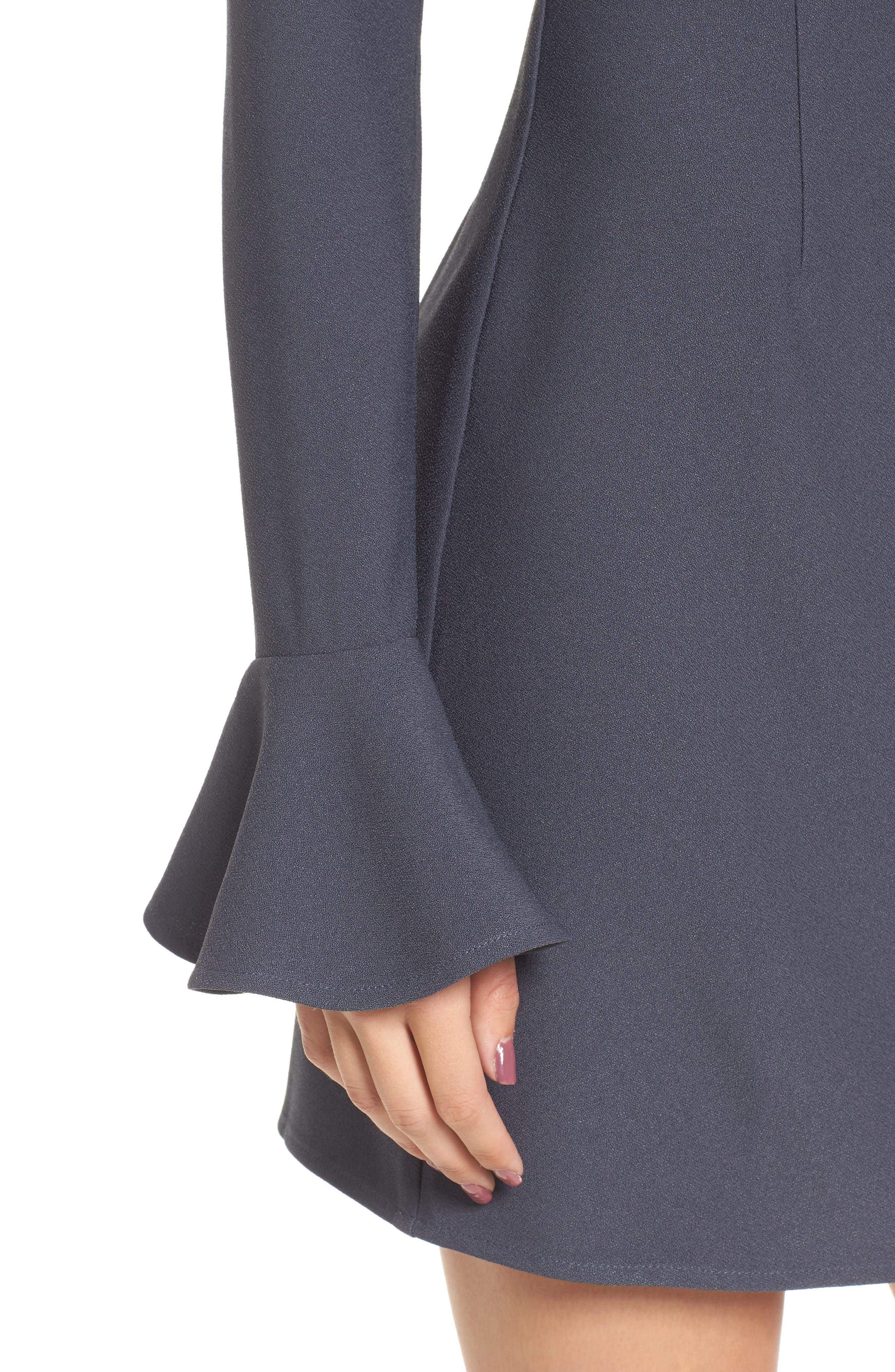 Alternate Image 4  - Leith Bell Sleeve Sheath Dress