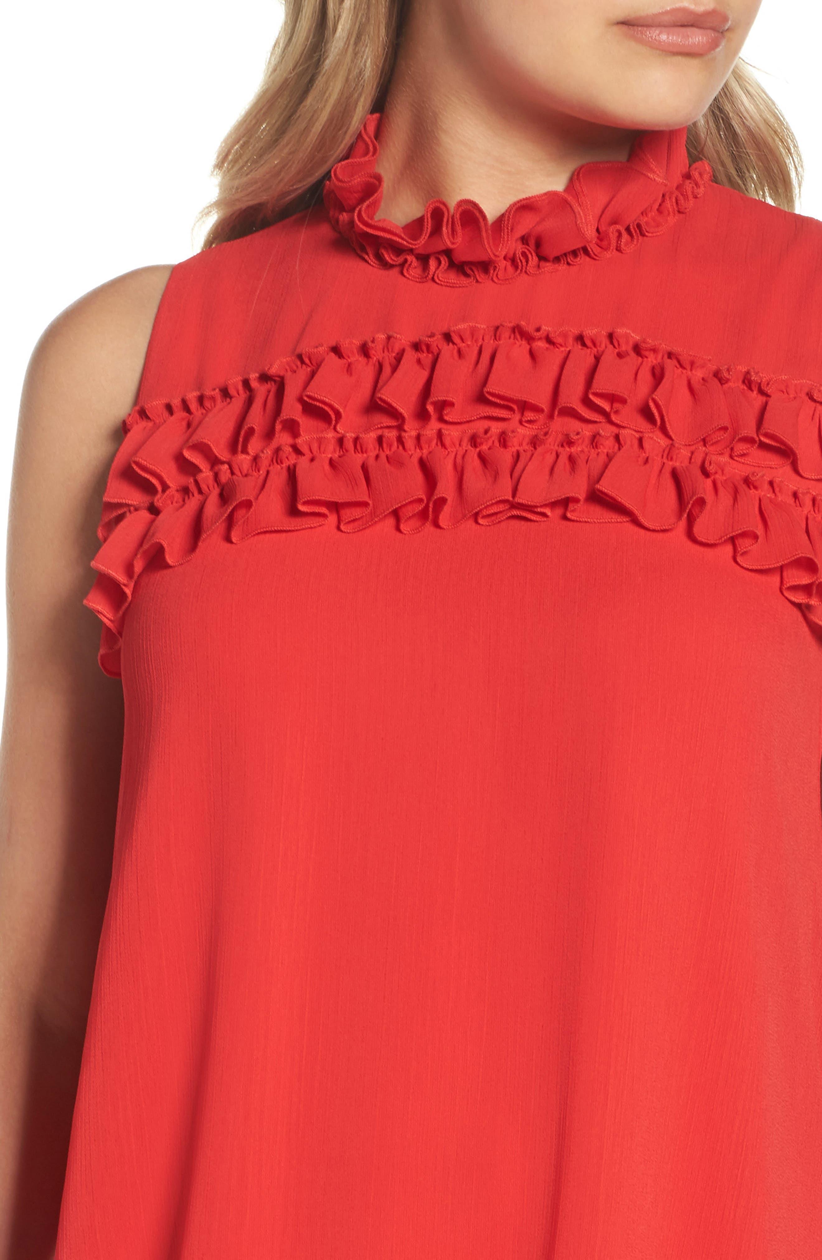 Alternate Image 4  - BB Dakota Hanson Trapeze Dress