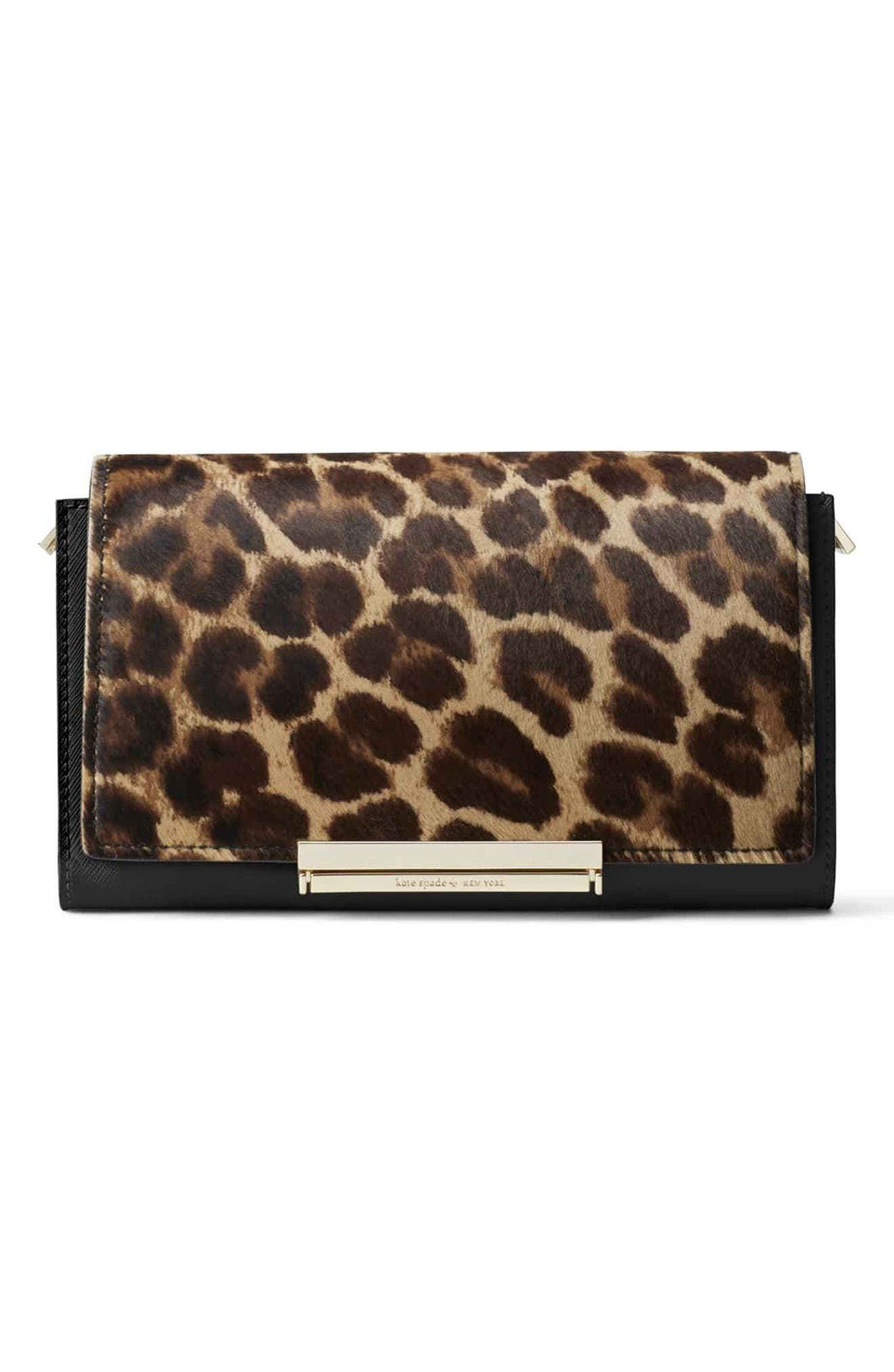 Alternate Image 5  - kate spade new york make it mine genuine calf hair snap-on accent flap