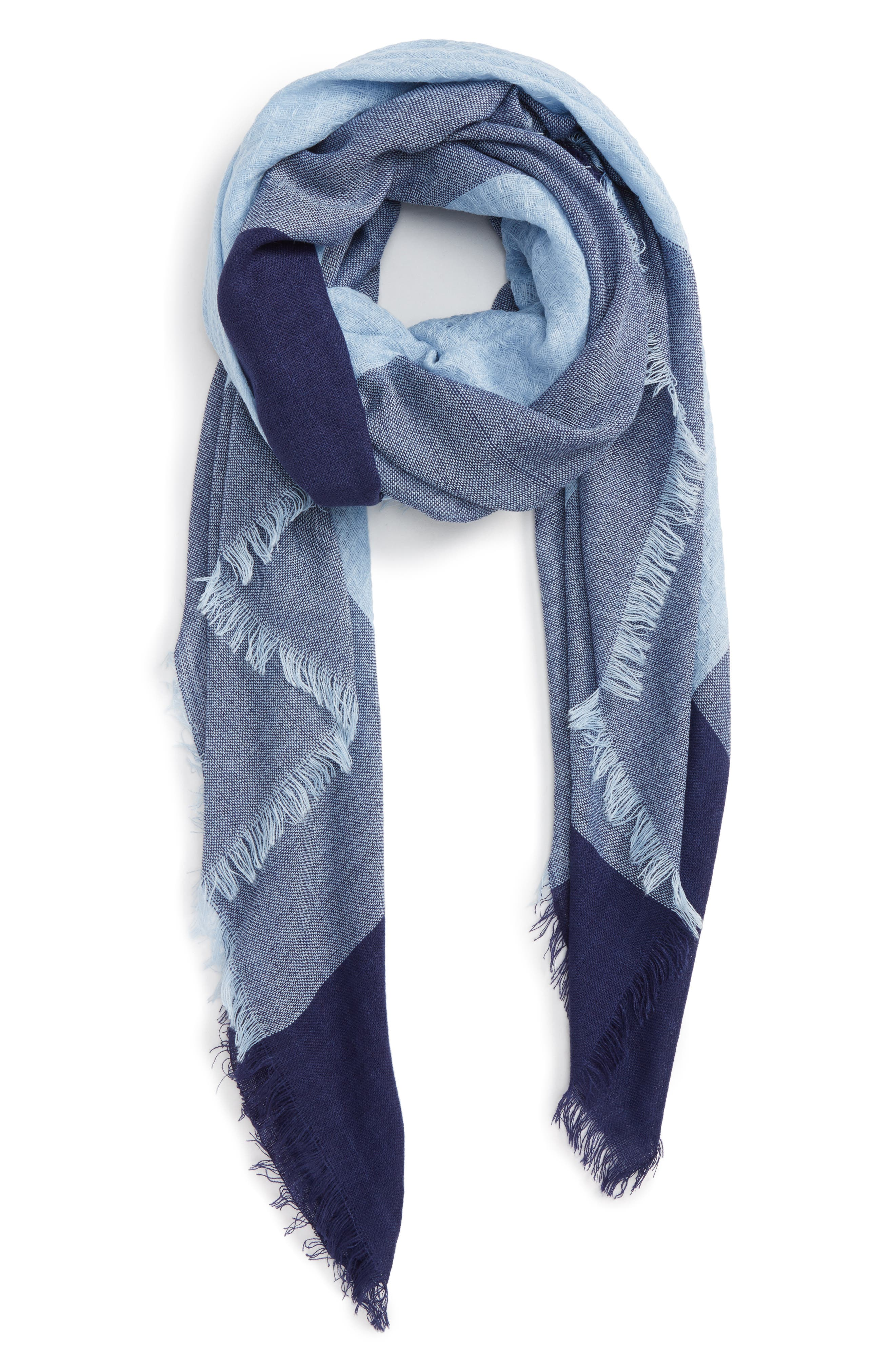Accessory Collective Plaid Edge Scarf