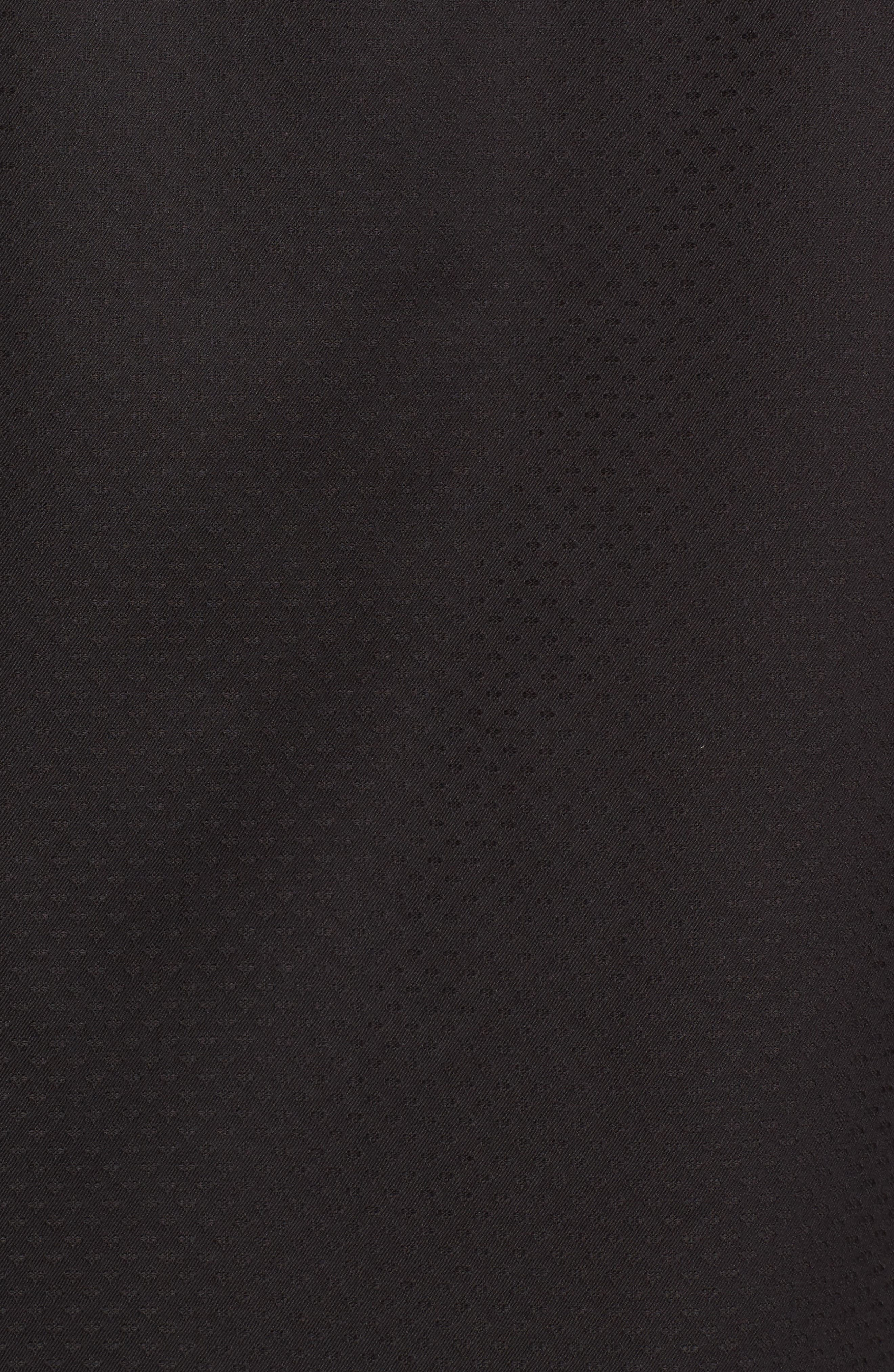 Alternate Image 5  - Bugatchi Classic Fit Diamond Jacquard Sport Shirt