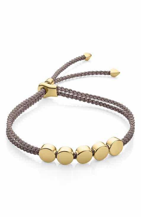 a11be217dd5d8b Monica Vinader Engravable Linear Bead Friendship Bracelet