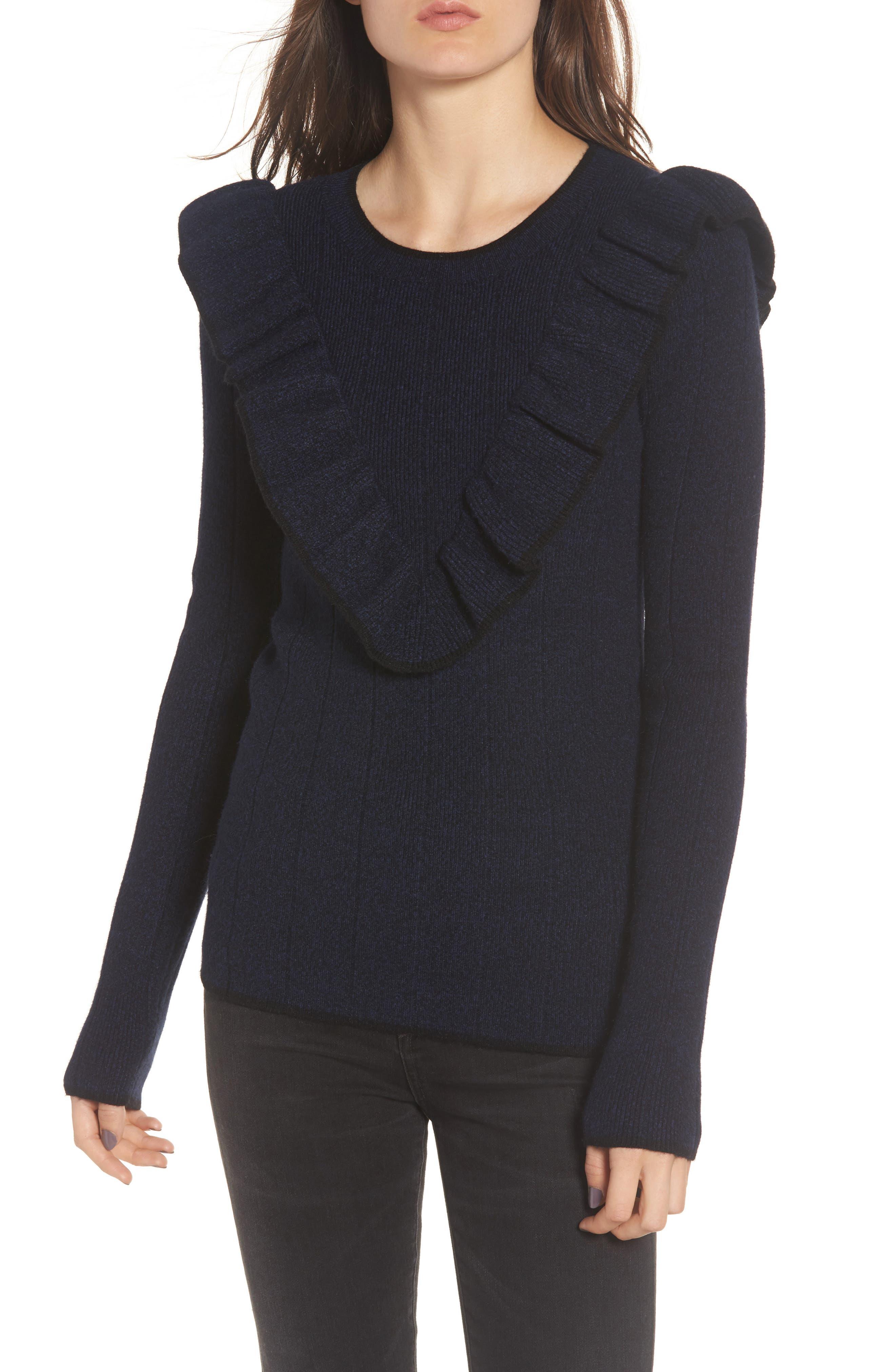 Hinge Ruffle Sweater