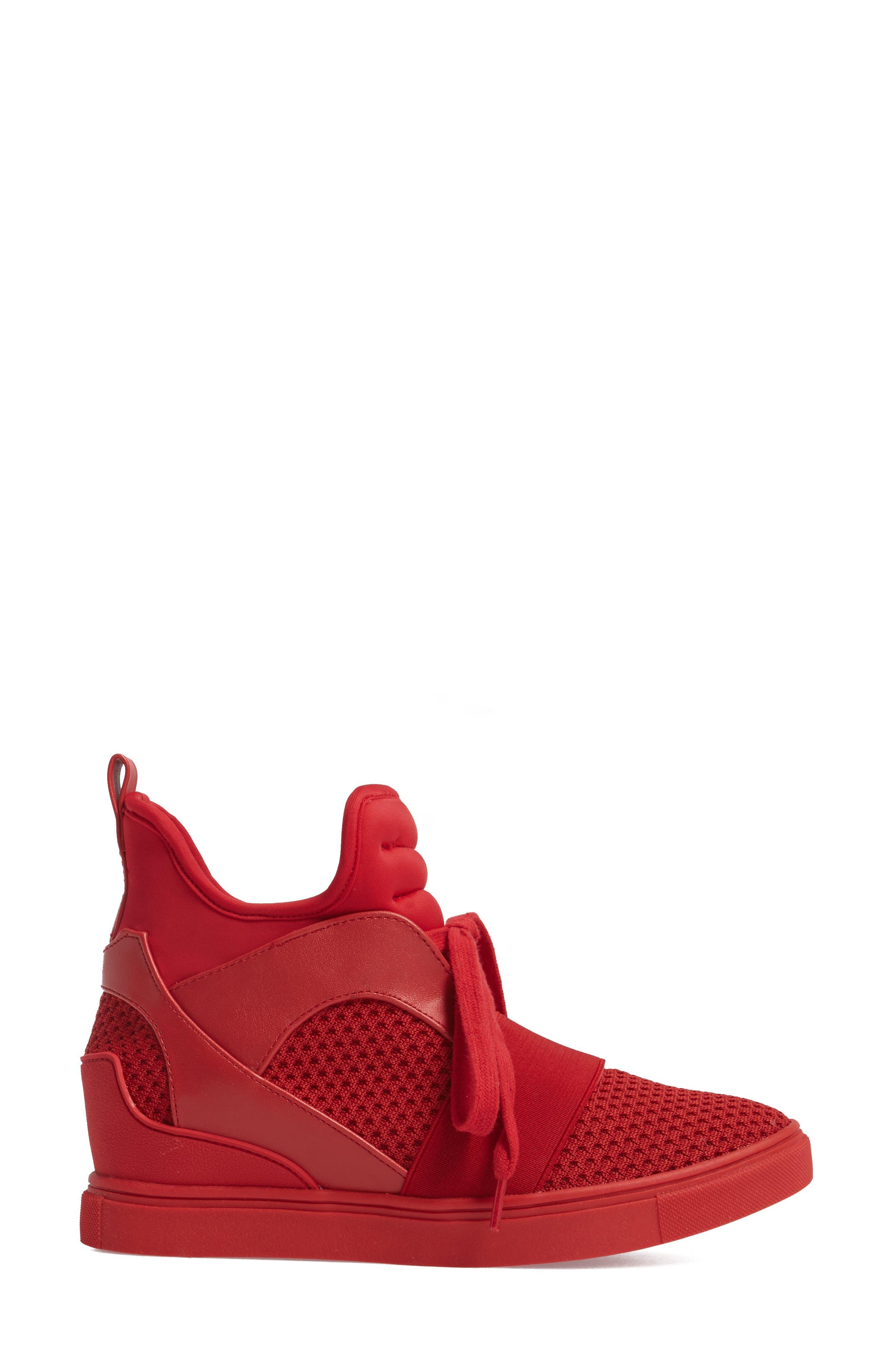 Alternate Image 3  - Steve Madden Lexie Wedge Sneaker (Women)