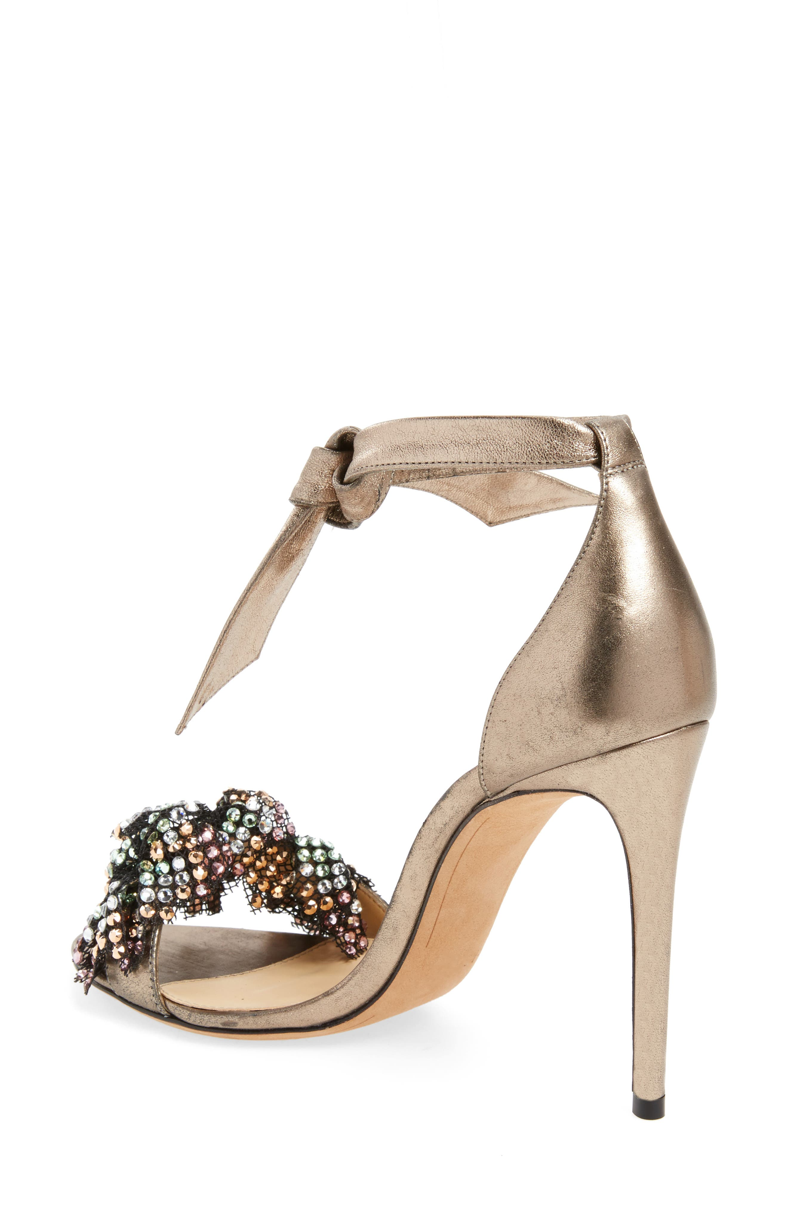 Alternate Image 2  - Alexandre Birman Clarita Show Embellished Ankle Tie Sandal