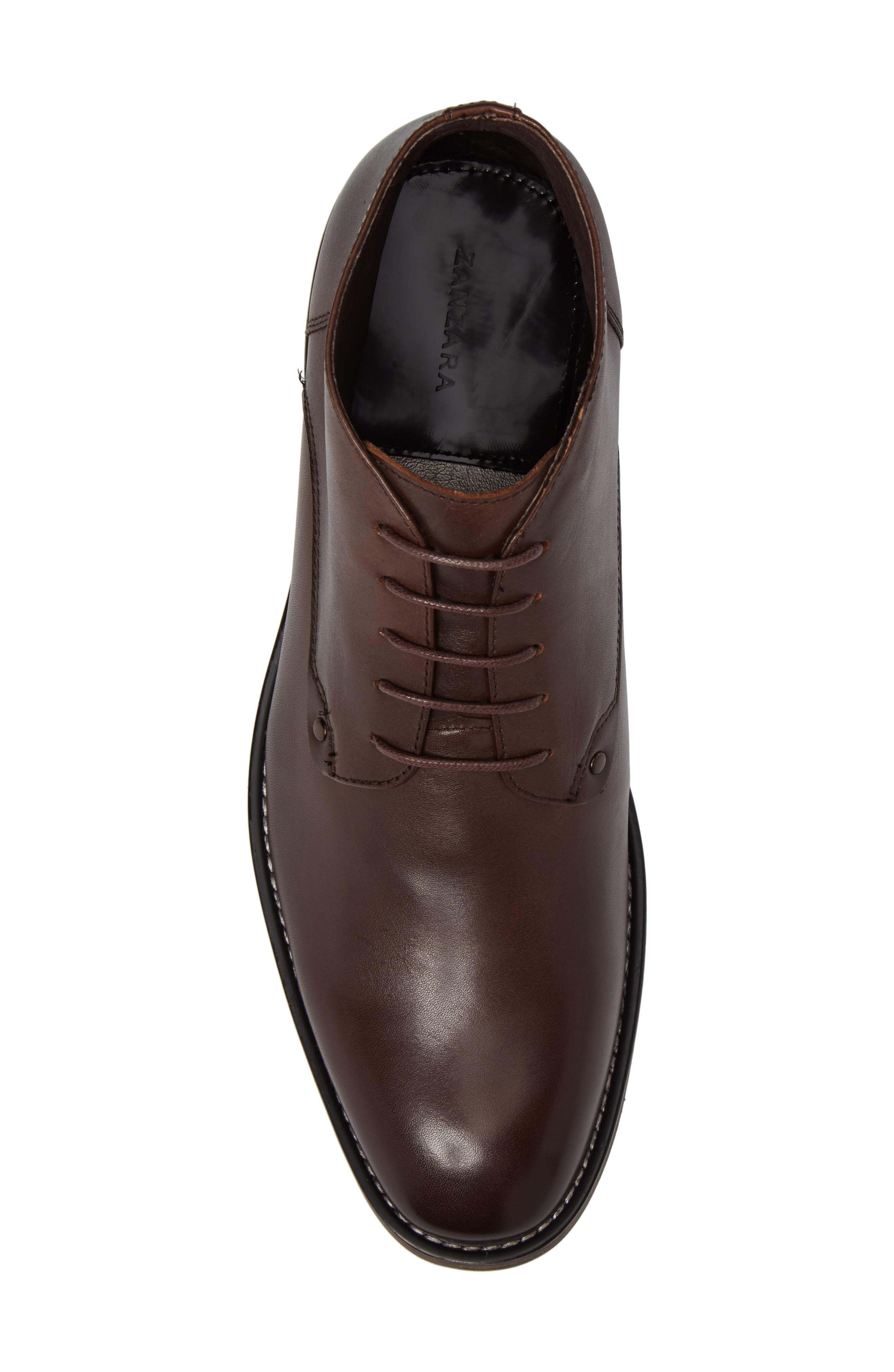 Malta Low Boot,                             Alternate thumbnail 5, color,                             Brown Leather