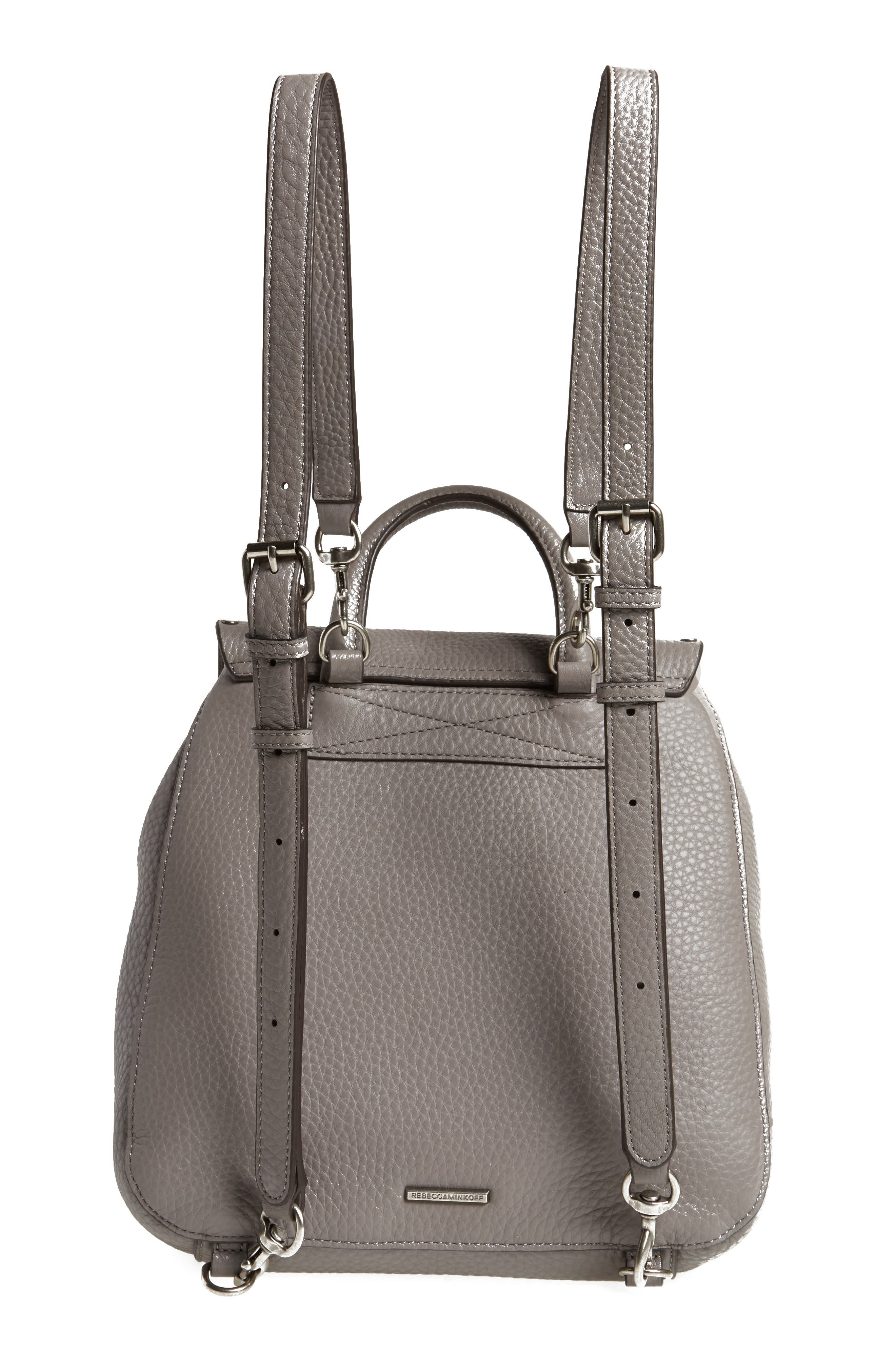 Alternate Image 3  - Rebecca Minkoff Small Keith Suede & Leather Backpack