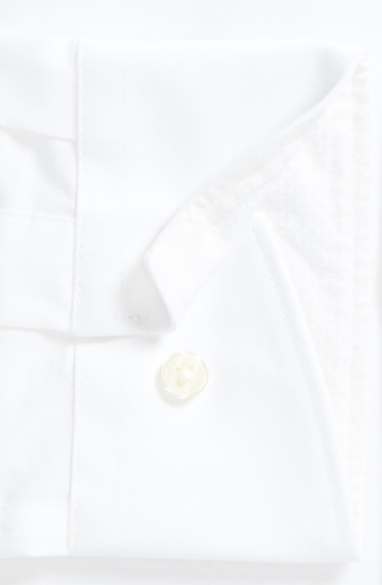 Endurance Bookers Slim Fit Solid Dress Shirt,                             Alternate thumbnail 2, color,                             White