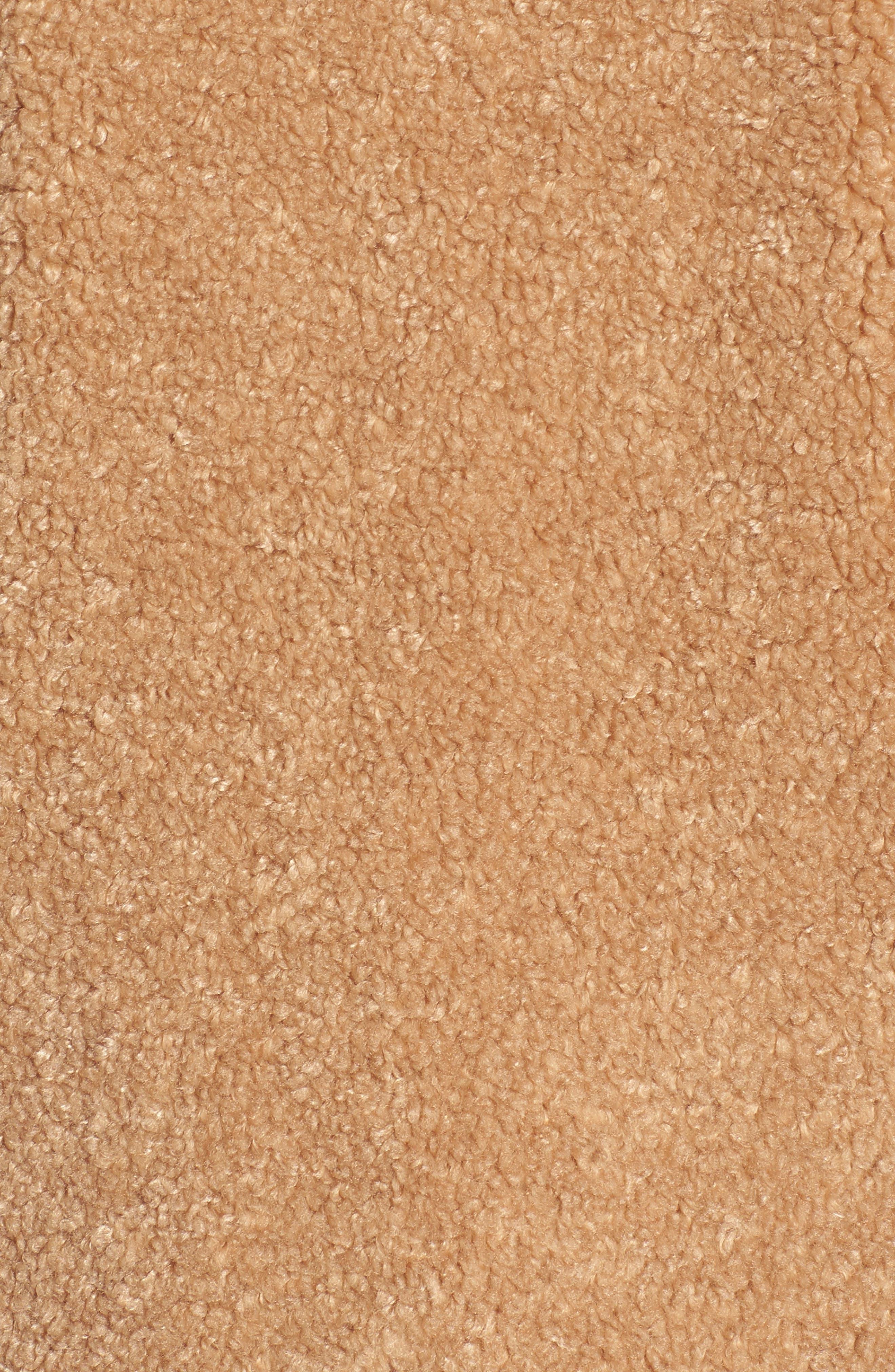 Alternate Image 6  - kensie Teddy Bear Notch Collar Faux Fur Coat