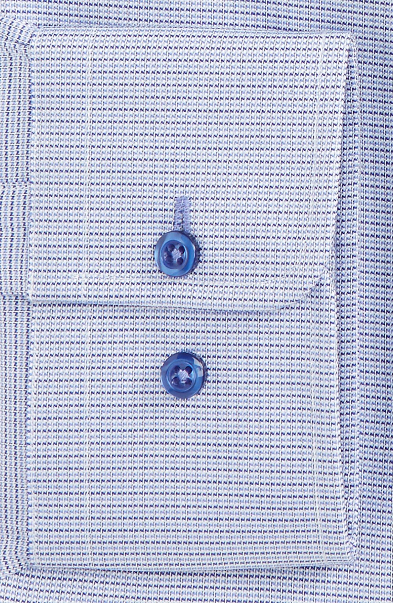 Alternate Image 2  - David Donahue Regular Fit Check Dress Shirt