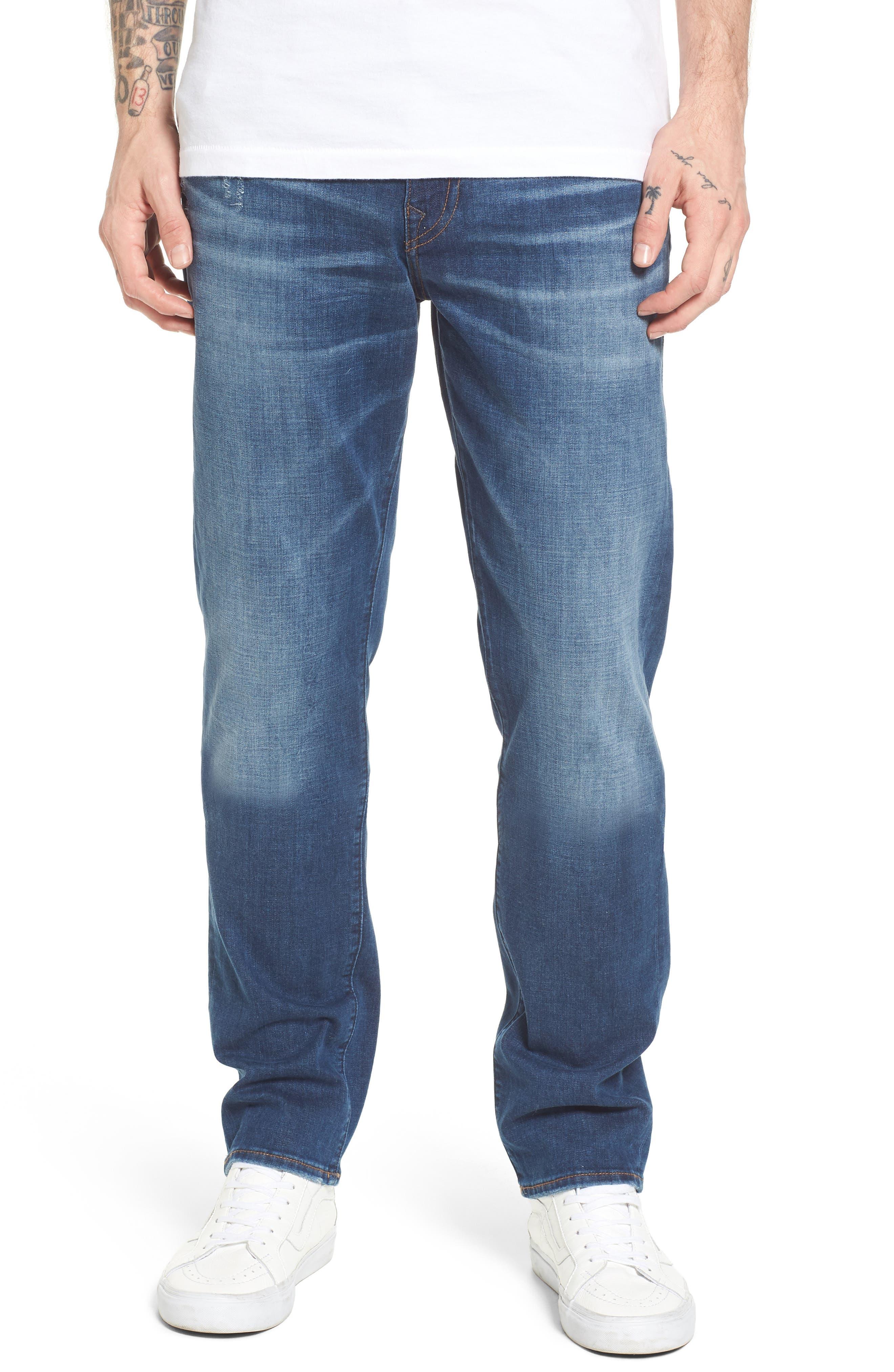 True Religion Brand Jeans Geno Straight Leg Jeans (Street Vice)