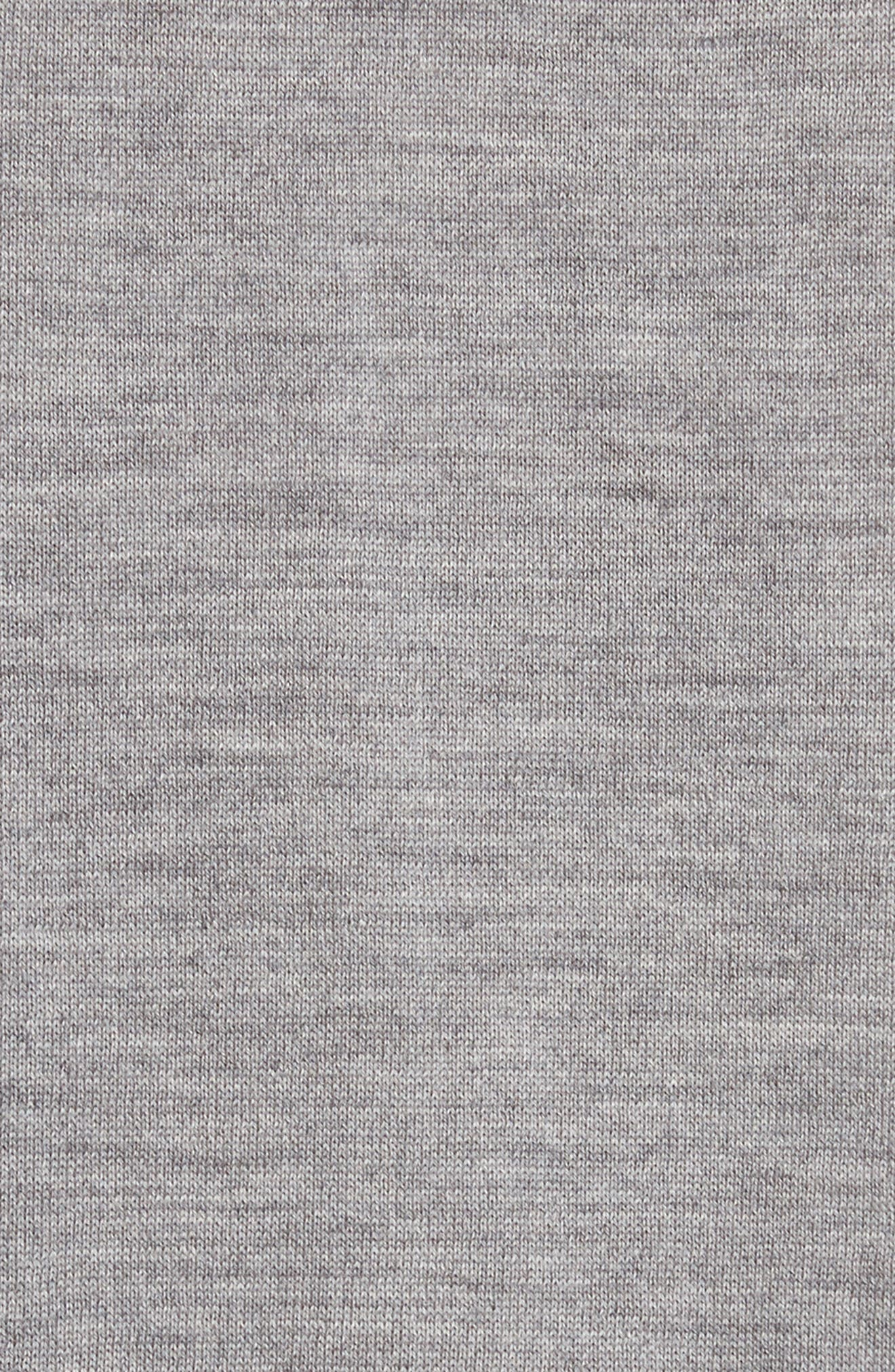Artist Stripe Merino Wool Sweater,                             Alternate thumbnail 5, color,                             Grey