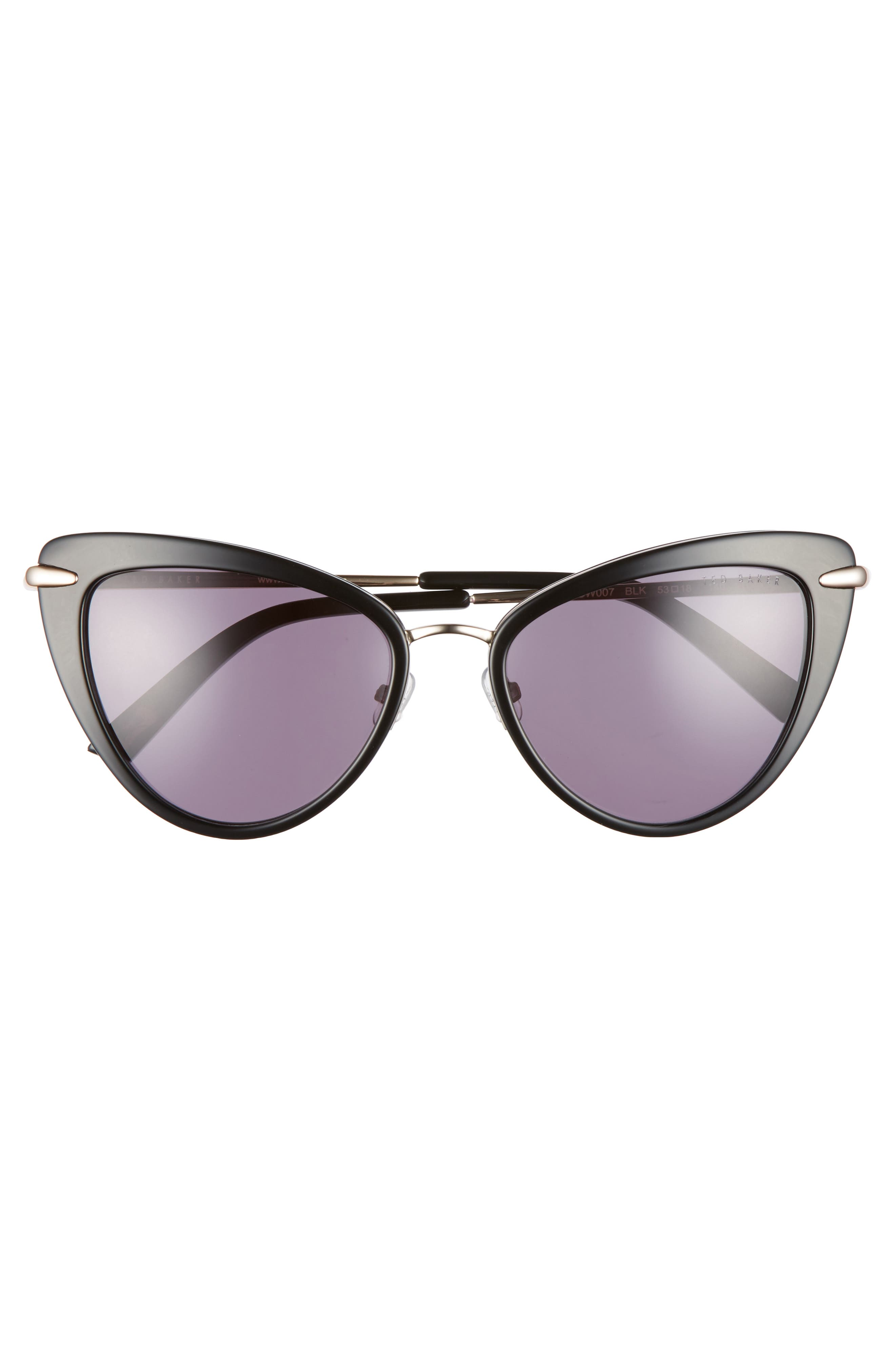 Alternate Image 3  - Ted Baker London 53mm Cat Eye Sunglasses